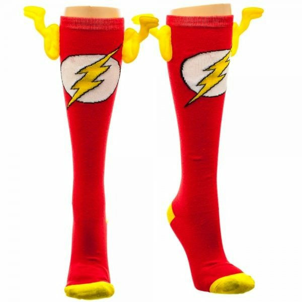 DC Comics Flash Knee High with Wings Socks