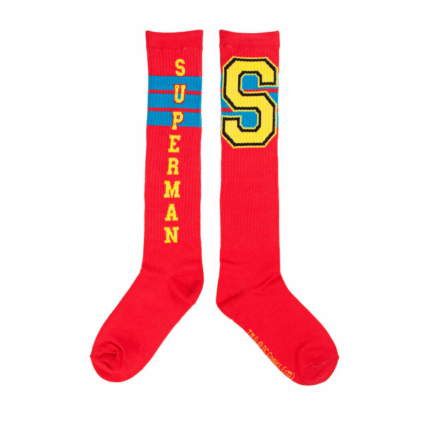DC Comics Superman Varsity Knee High Socks