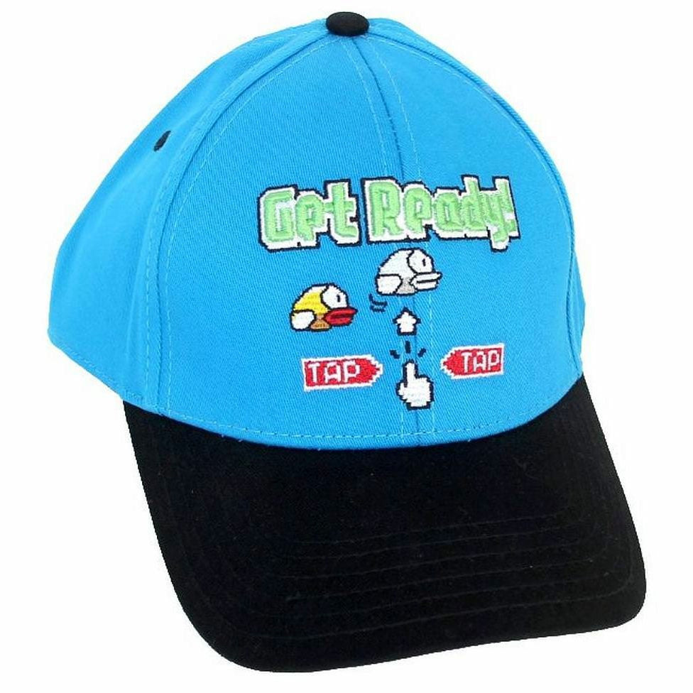 Flappy Bird Get Ready Snapback Baseball Cap