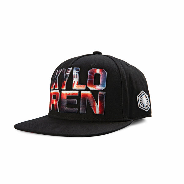 Star Wars Kylo Ren Embroidered Logo Youth Snapback Baseball Cap