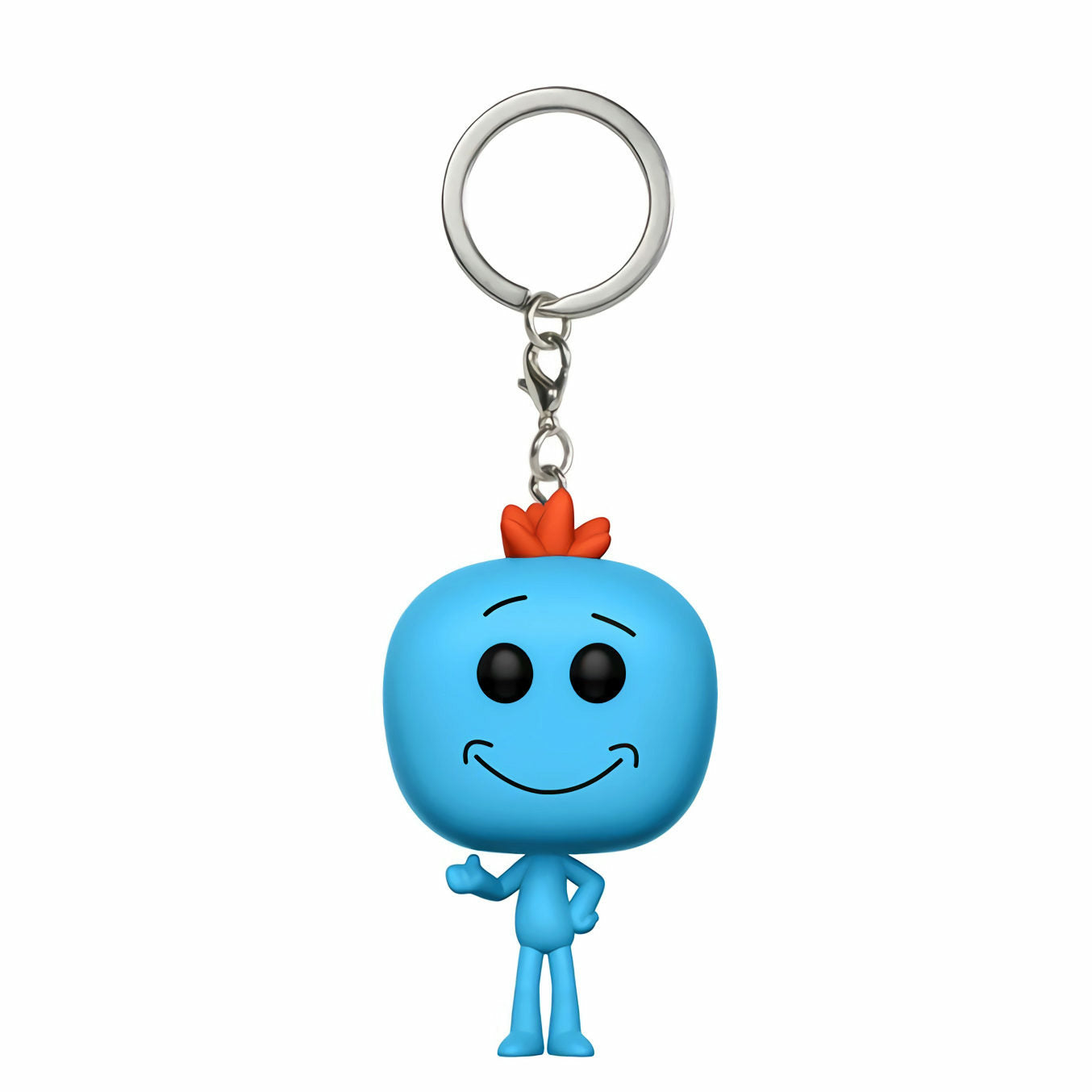 Rick and Morty Mr. Meeseeks Pocket Pop! Keychain
