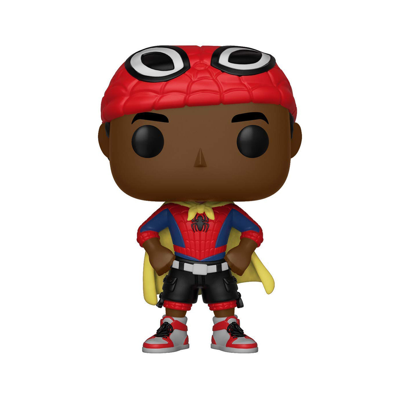 Spider-Man Into The Spider-Verse Miles Morales with Cape Bobblehead Pop! Figure