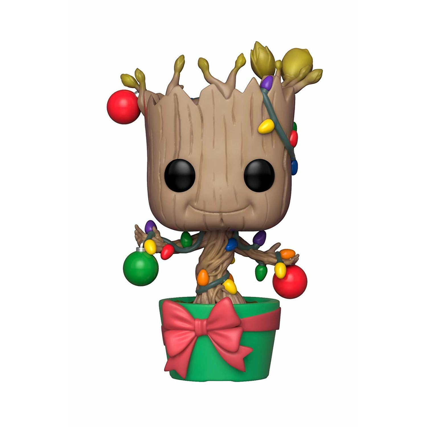 Marvel Guardians of the Galaxy Holiday Groot Bobblehead Pop! Vinyl Figure