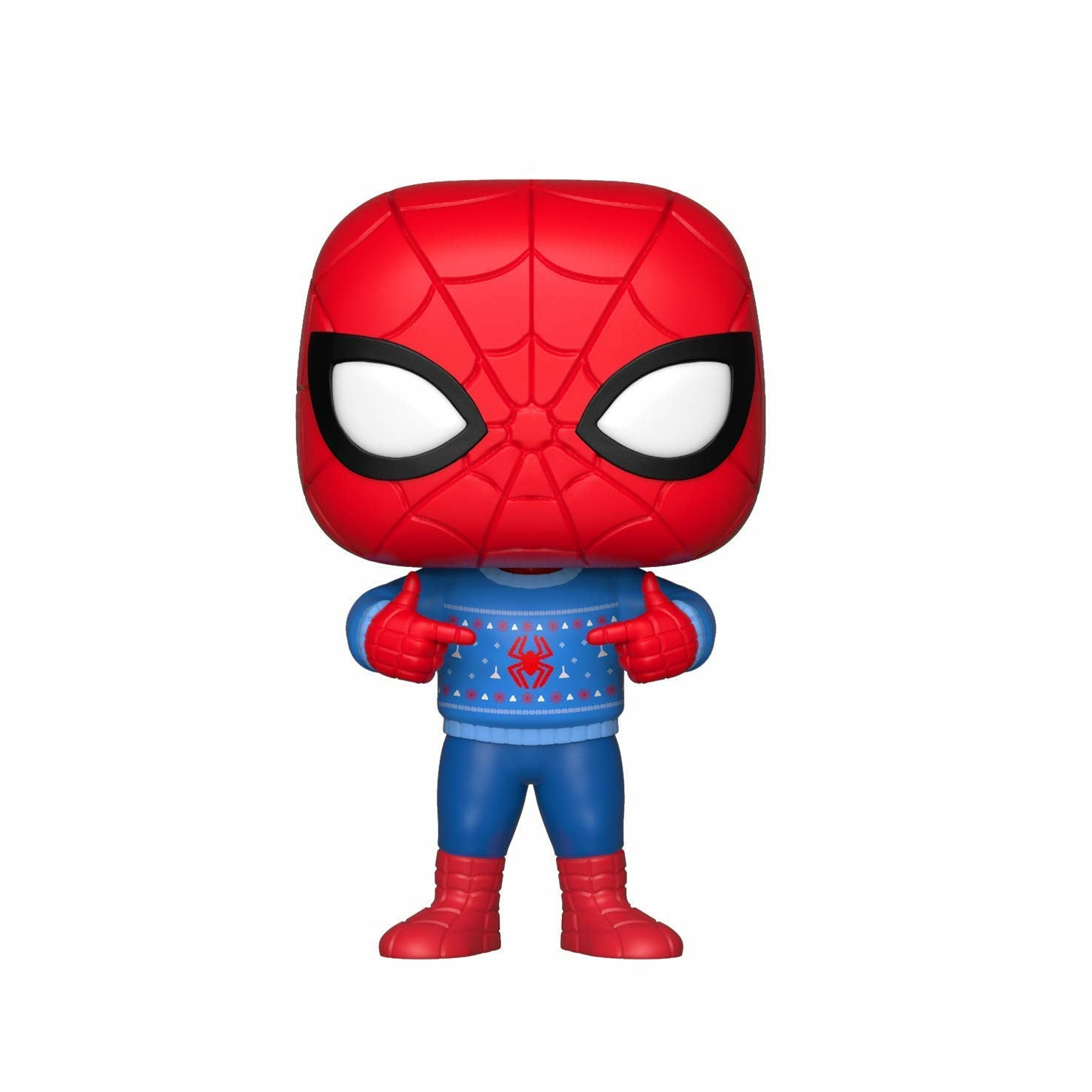 Marvel Spider-Man with Ugly Sweater Bobblehead Pop! Figure