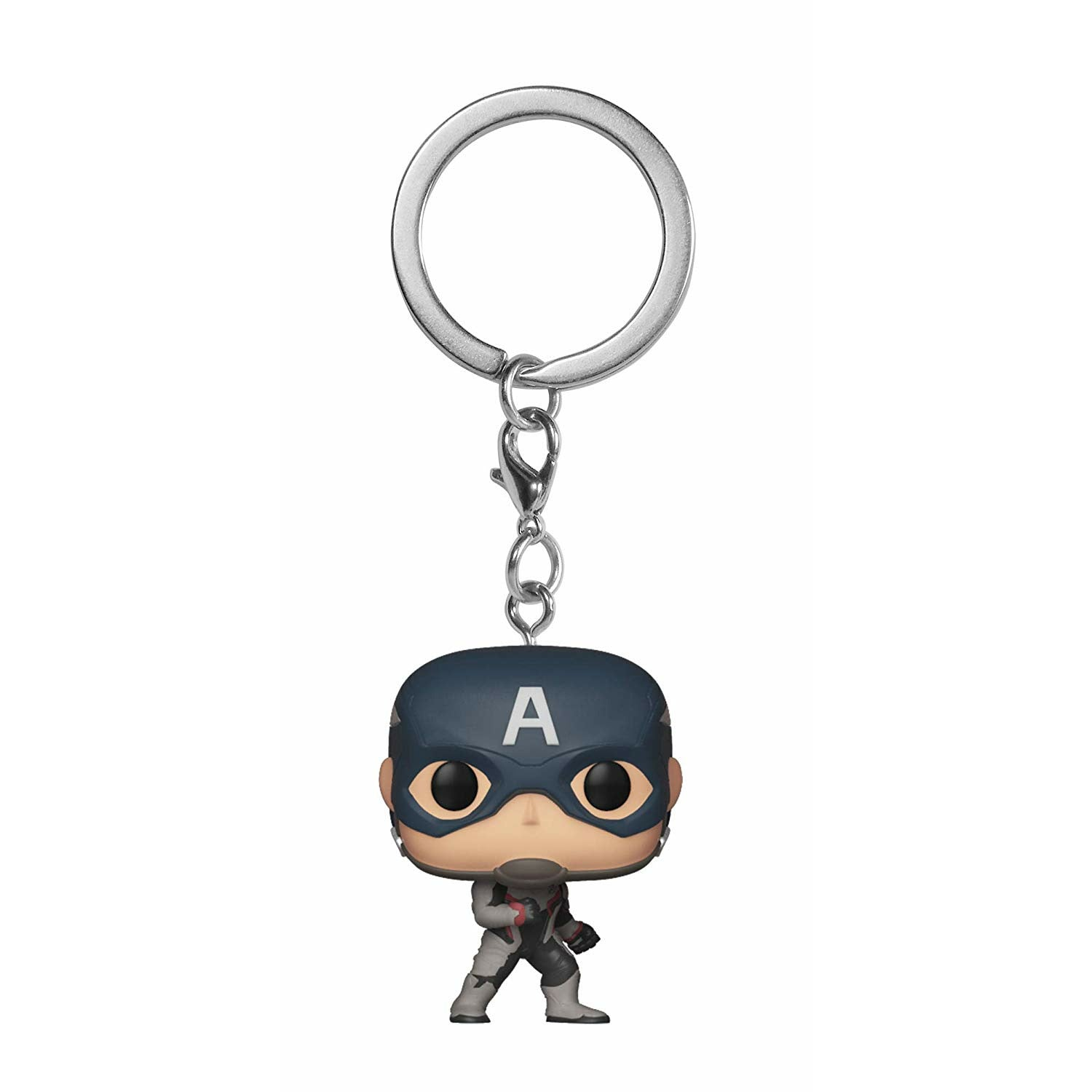 Marvel Avengers: Endgame Captain America Bobblehead Pocket Pop! Keychain Figure