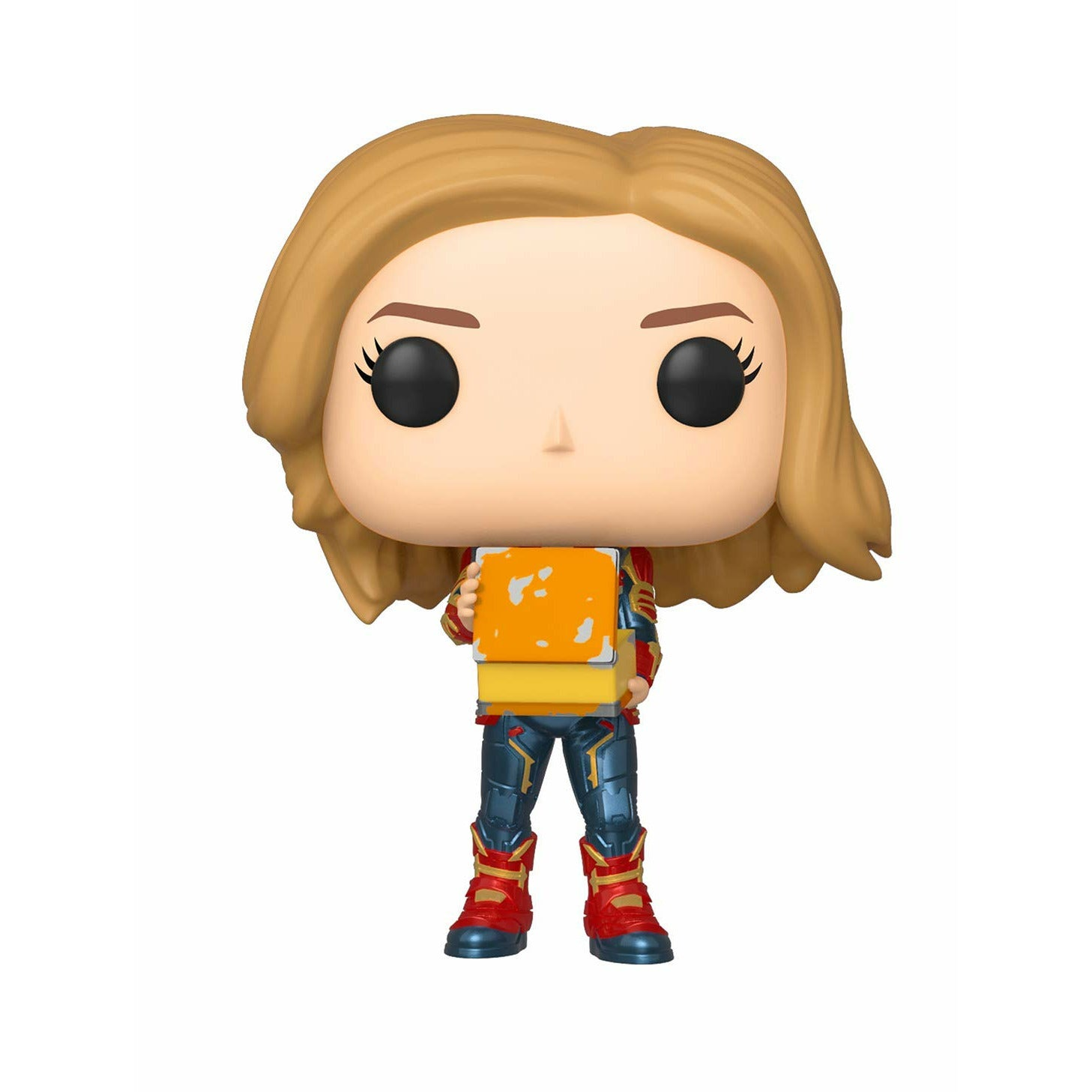 Marvel Captain Marvel Bobblehead Pop! Glow in the Dark Vinyl Figure