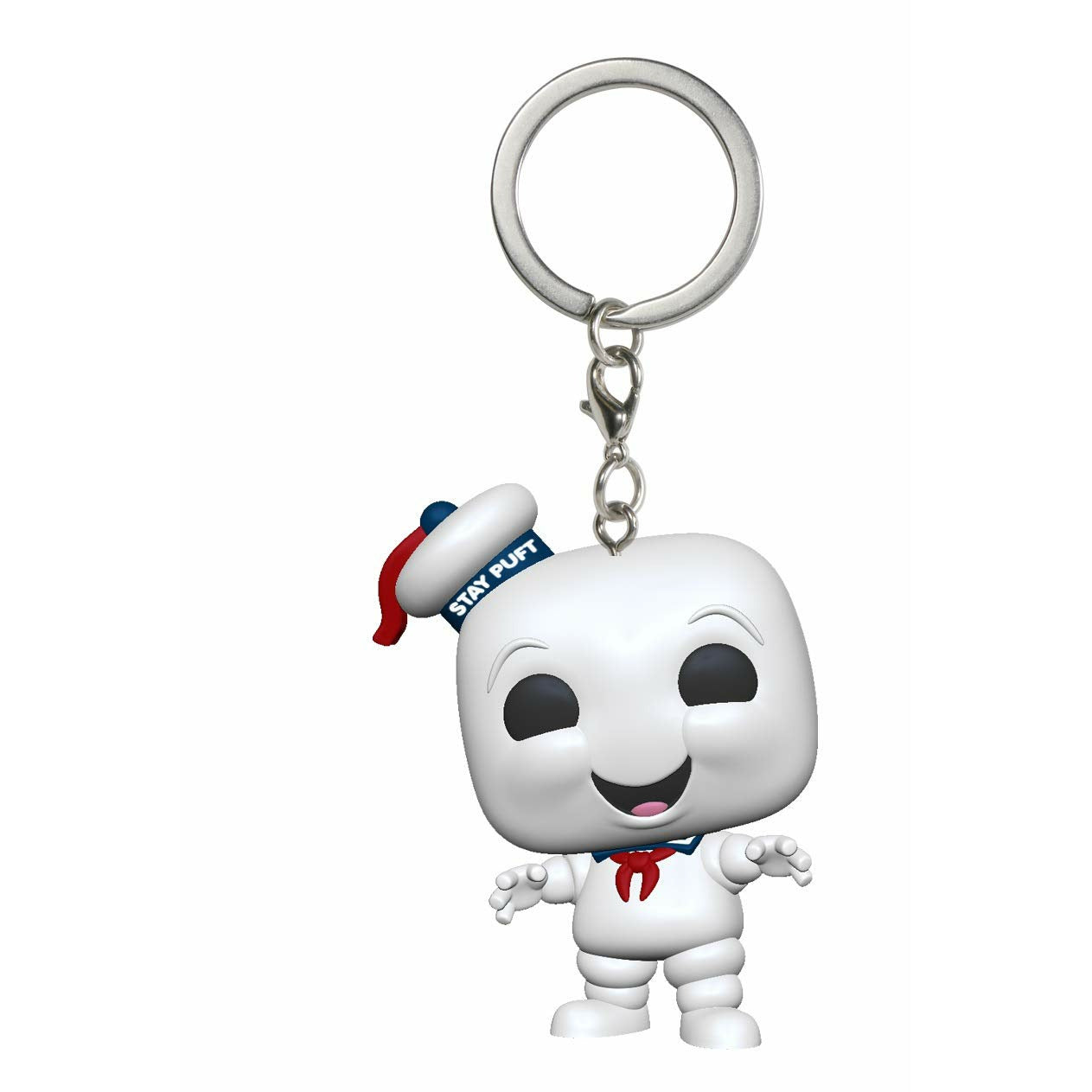 Ghostbusters Stay Puft Marshmallow Man Pocket Pop! Keychain Vinyl Figure