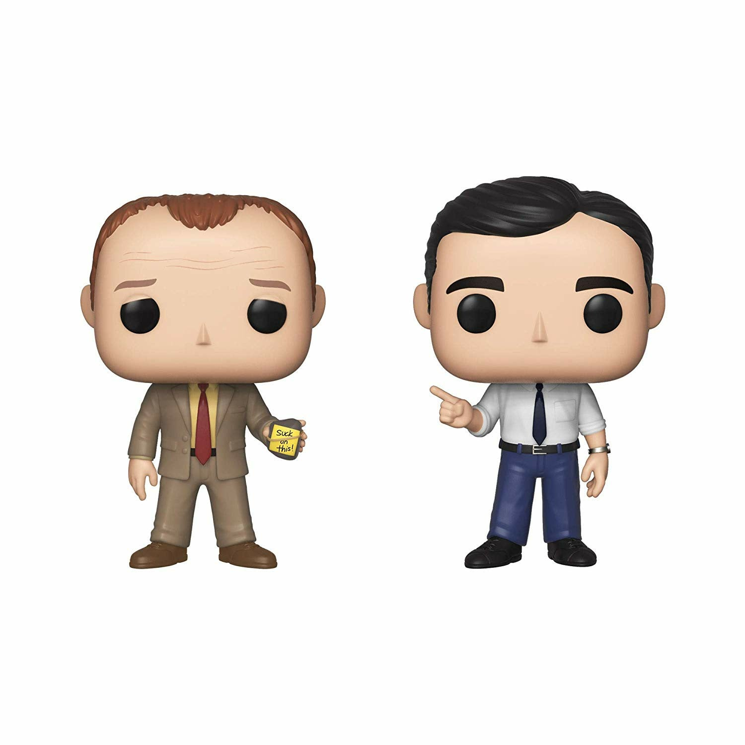 The Office Toby Vs Michael Pop! Television Vinyl Figures