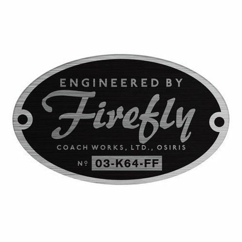Firefly: Engineered By Firefly Bumper Sticker