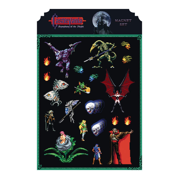 Castlevania Symphony Of The Night Magnet Set