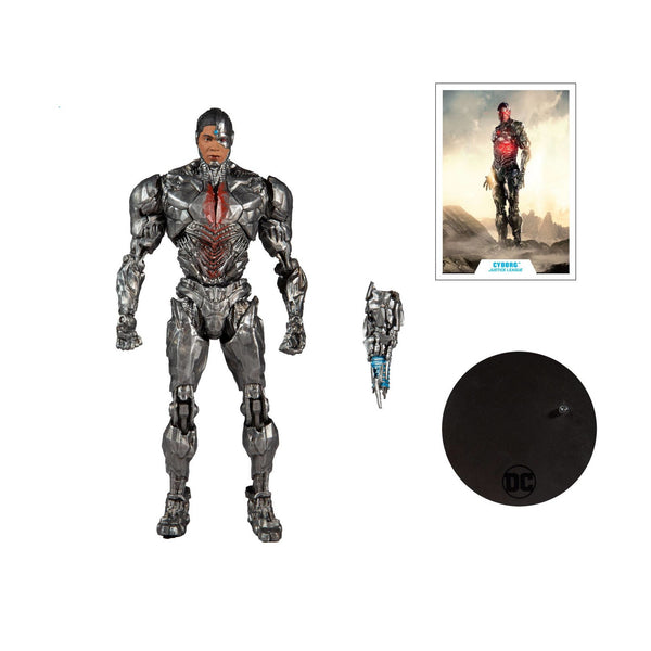 DC Justice League Cyborg 7in Scale Action Figure CS