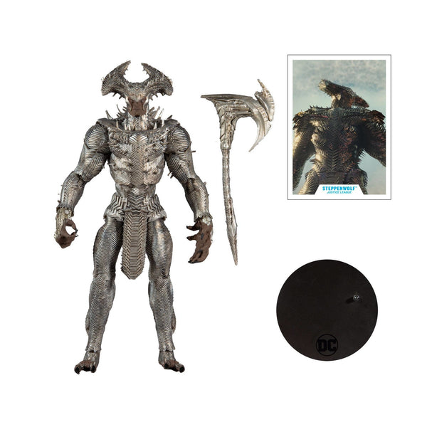 DC Justice League Steppenwolf 7in Scale Mega Action Figure CS