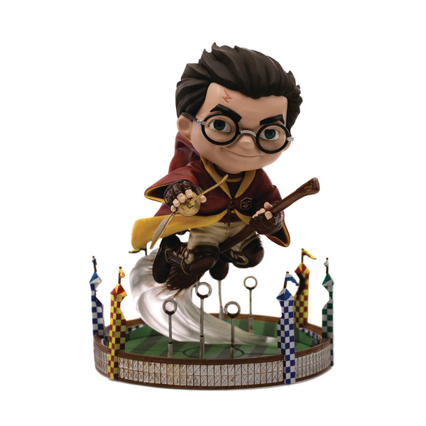 Minico Harry Potter Harry Quidditch Match Vinyl Statue