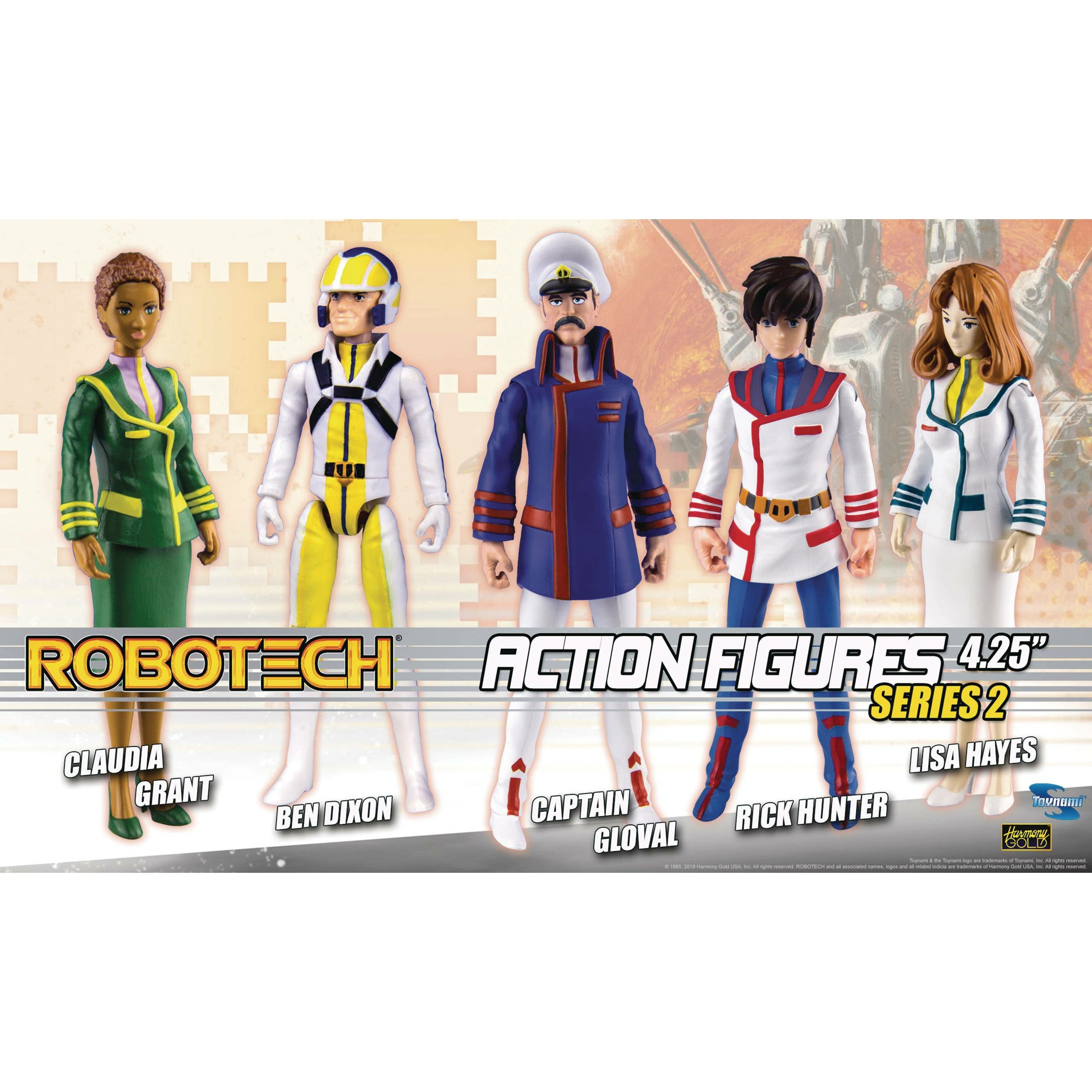 Robotech 4in Poseable Action Figure Assortment S2
