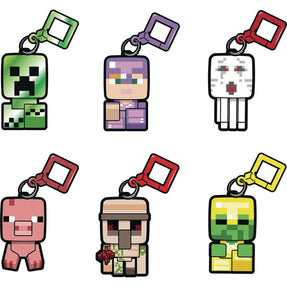 Minecraft Bobble Mobs Backpack Clip Ser 3 18pc Bmb Ds