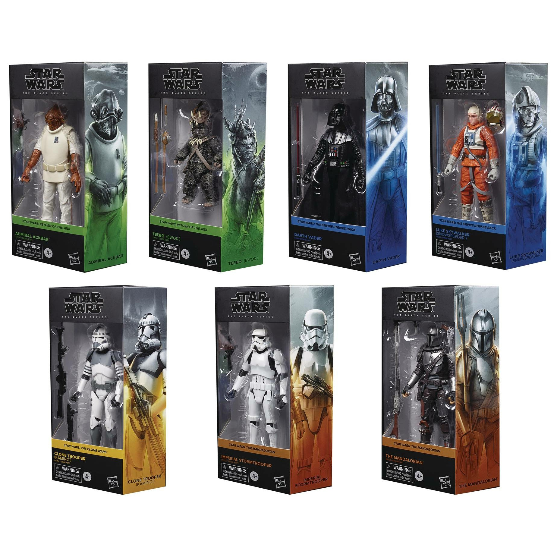 Star Wars Black Series 6in Action Figure Assortment 202005