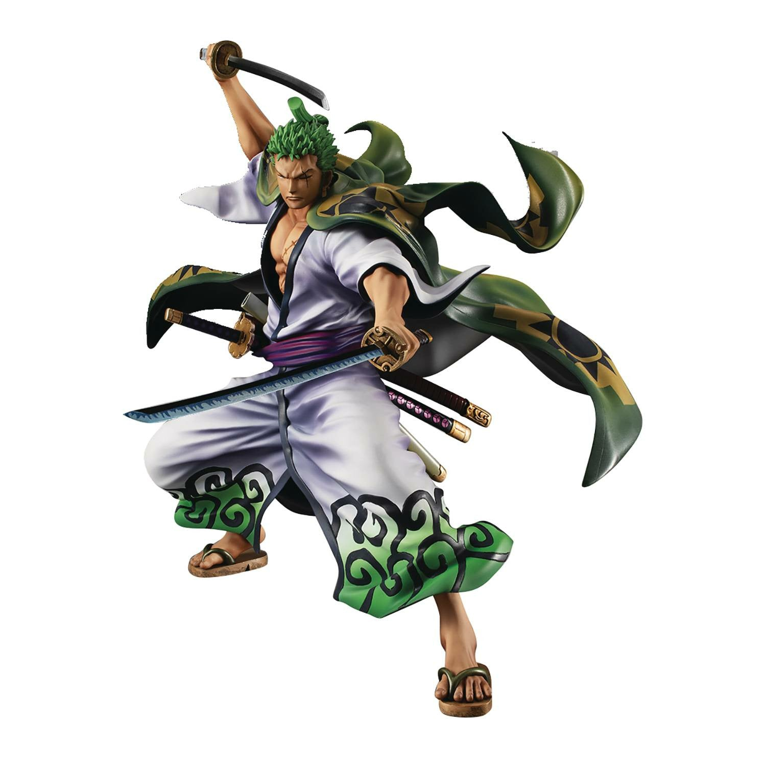 One Piece Portrait Pirates Warriors All Zoro Juro PVC Figure