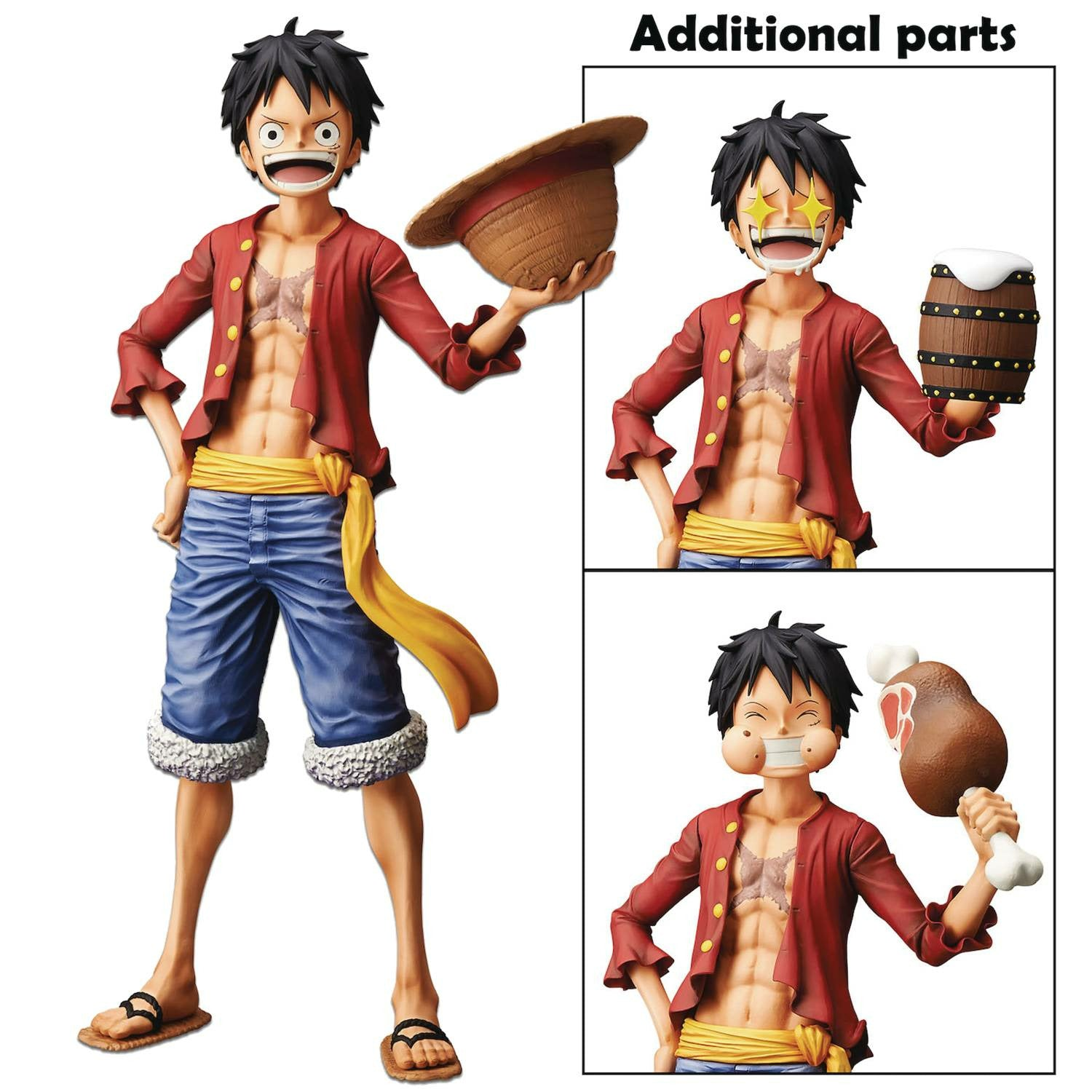 One Piece Grandista Nero Monkey D Luffy Figure