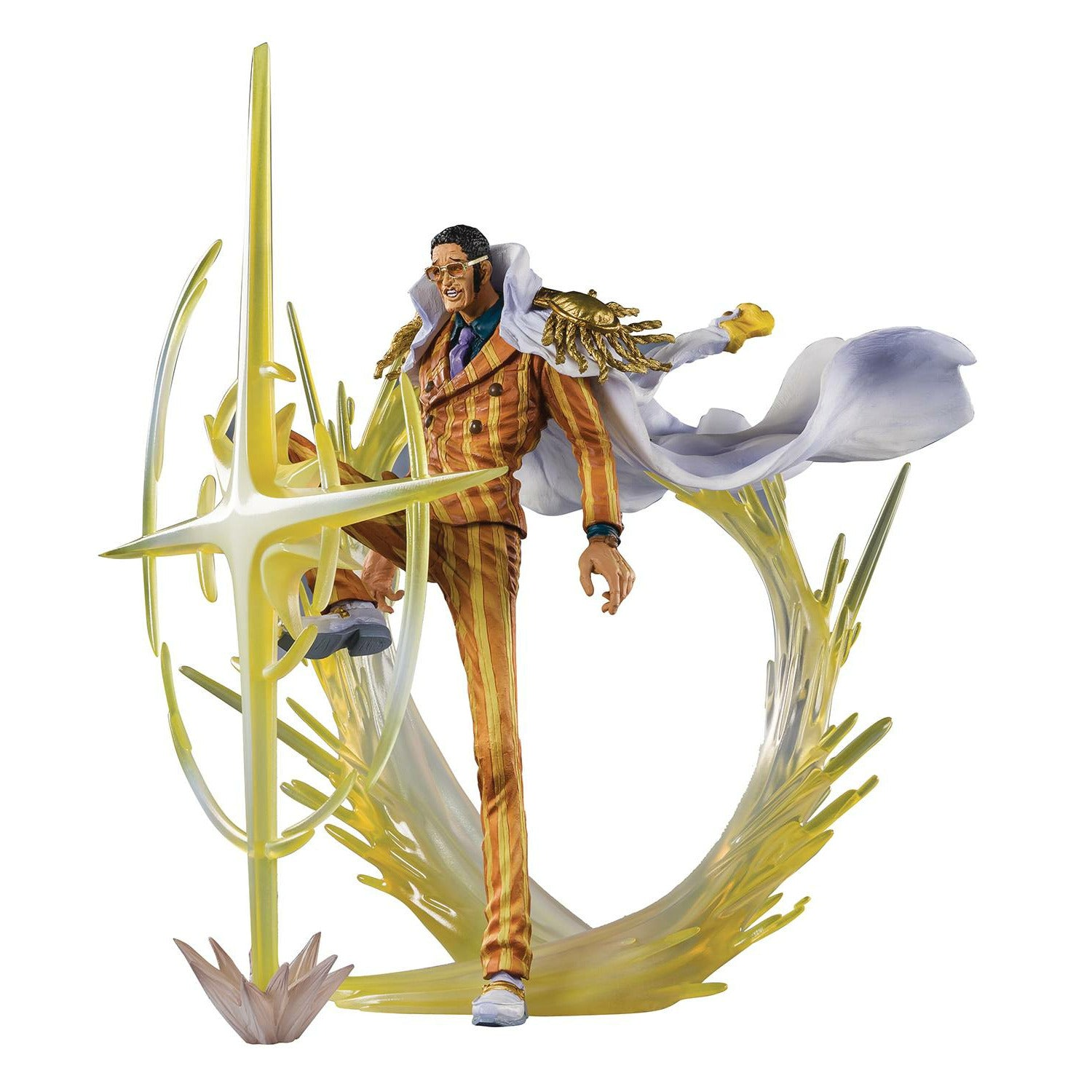 One Piece Three Admirals Borsalino Kizaru Figuarts Zero Action Figure