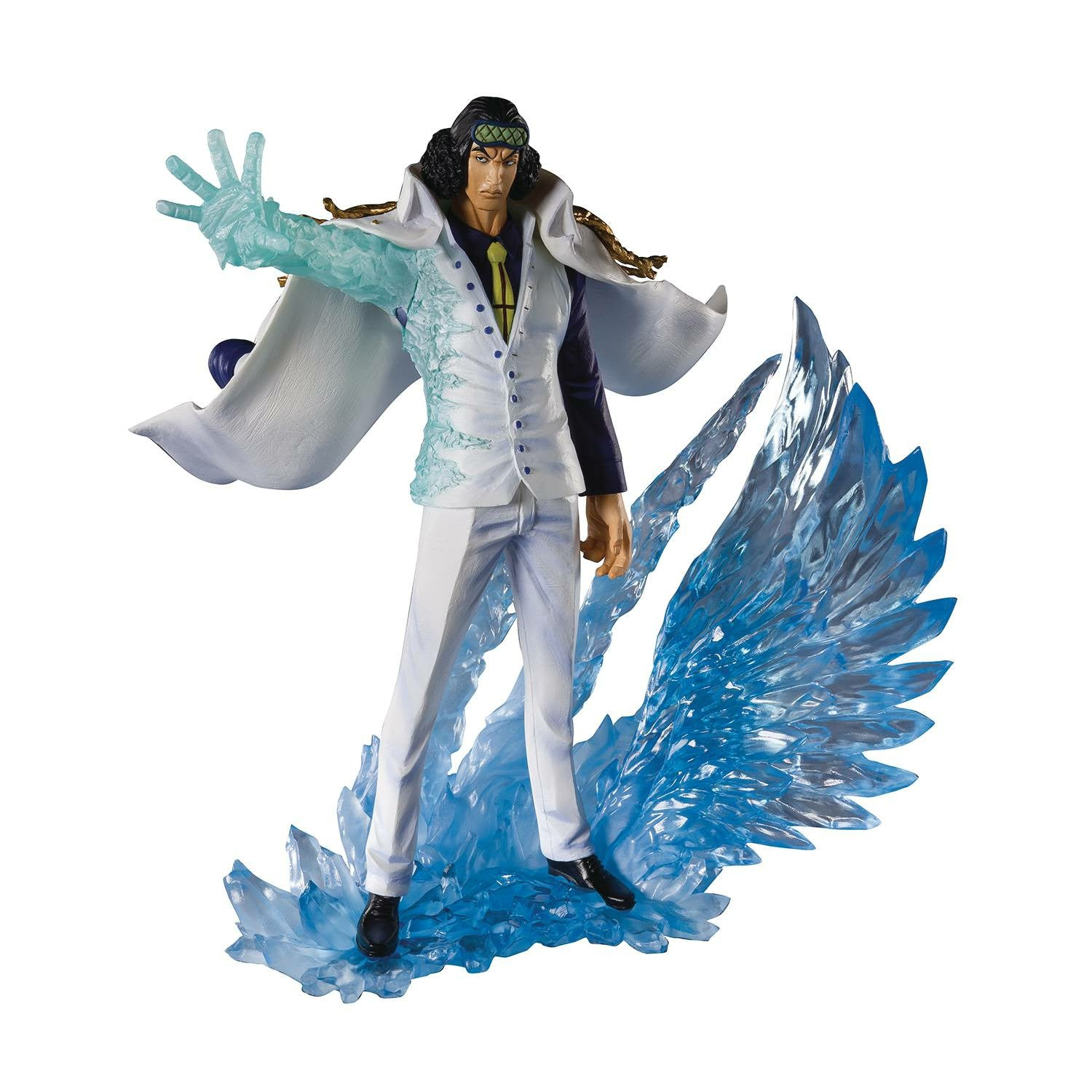 One Piece Three Admirals Kuzan Aokiji Figuarts Zero Action Figure