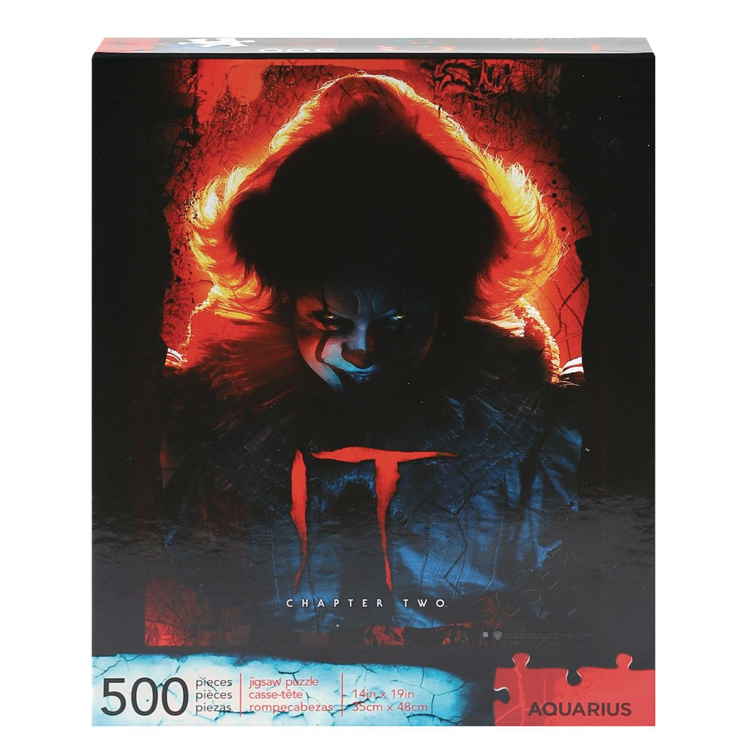 It Chapter 2 Pennywise 500pc Jigsaw Puzzle