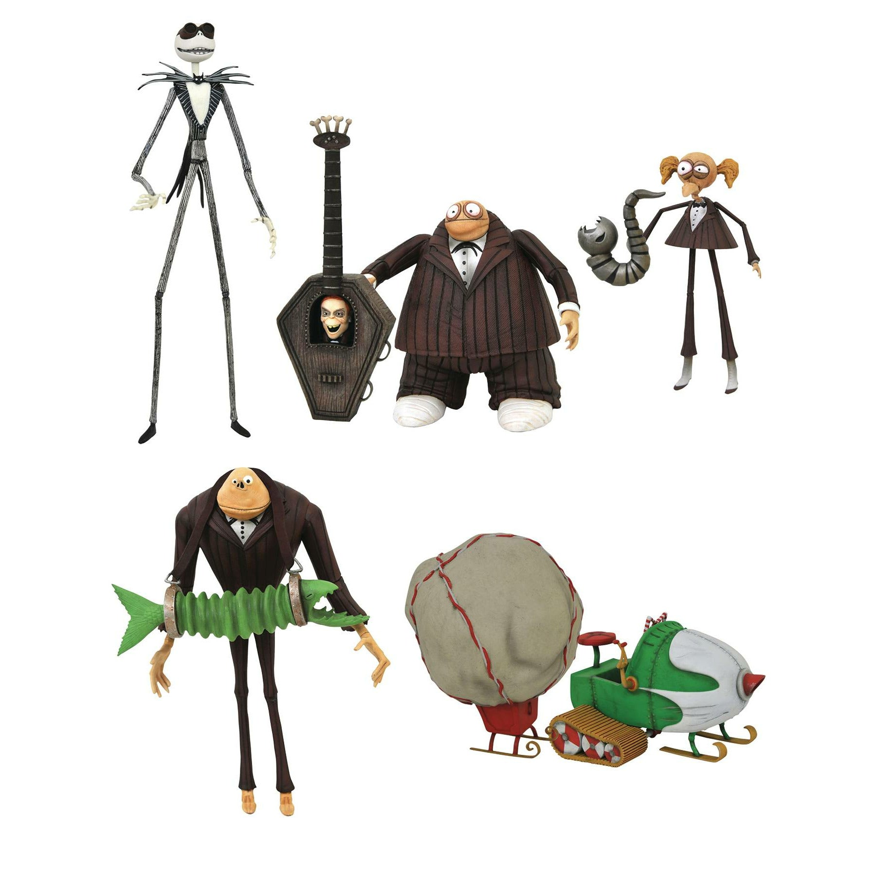 Nightmare Before Christmas Select Series 9 Figure Assortment