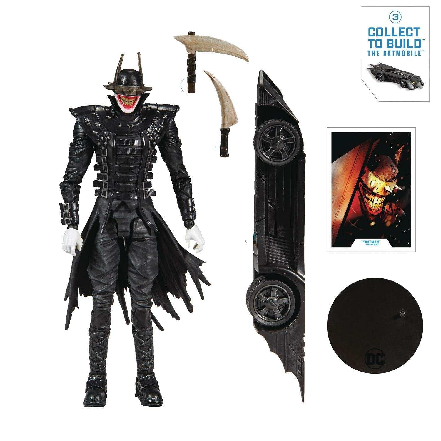 DC Collector Wv1 Batman Who Laughs 7in Scale Action Figure CS