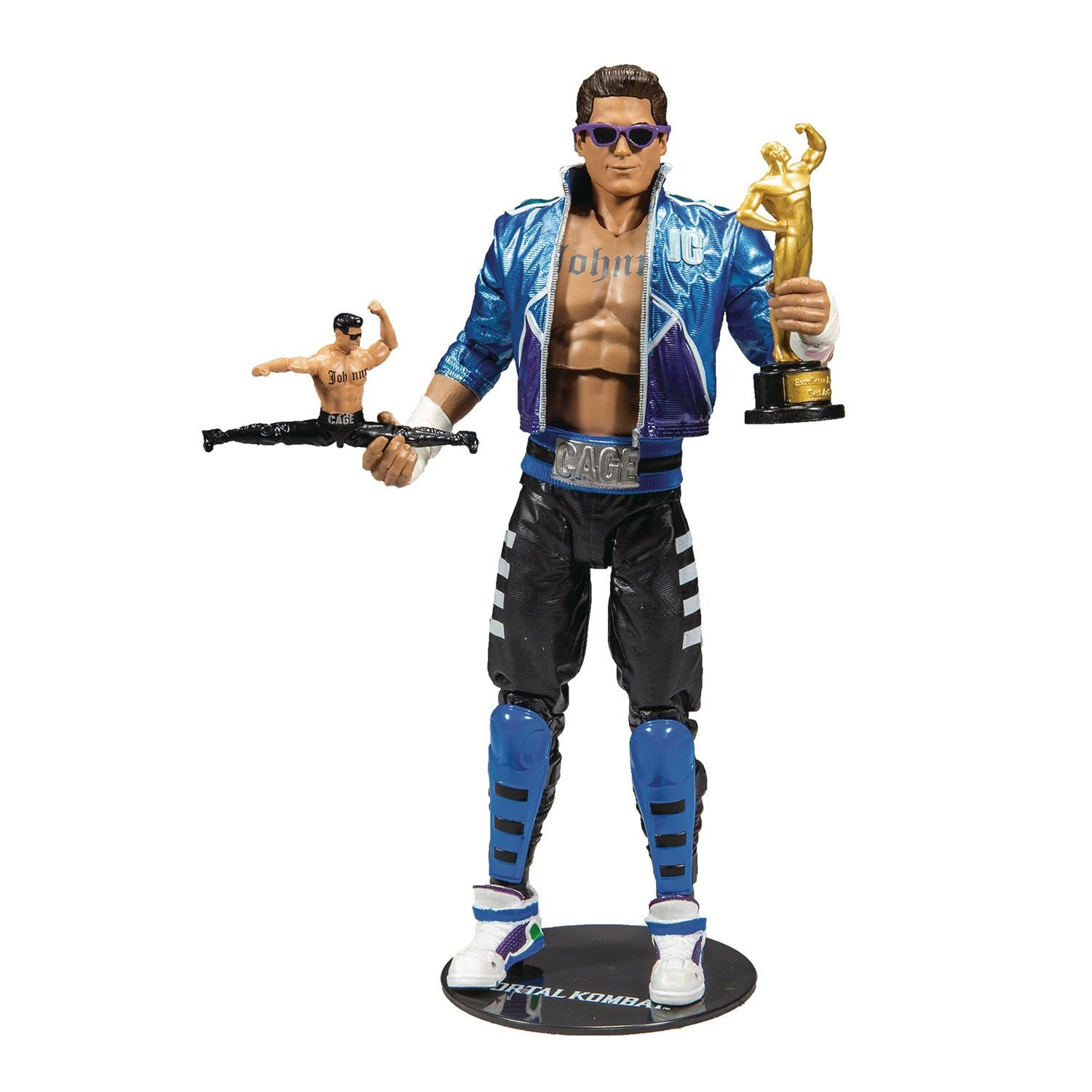 Mortal Kombat Wv2 Johnny Cage 7in Scale Action Figure CS