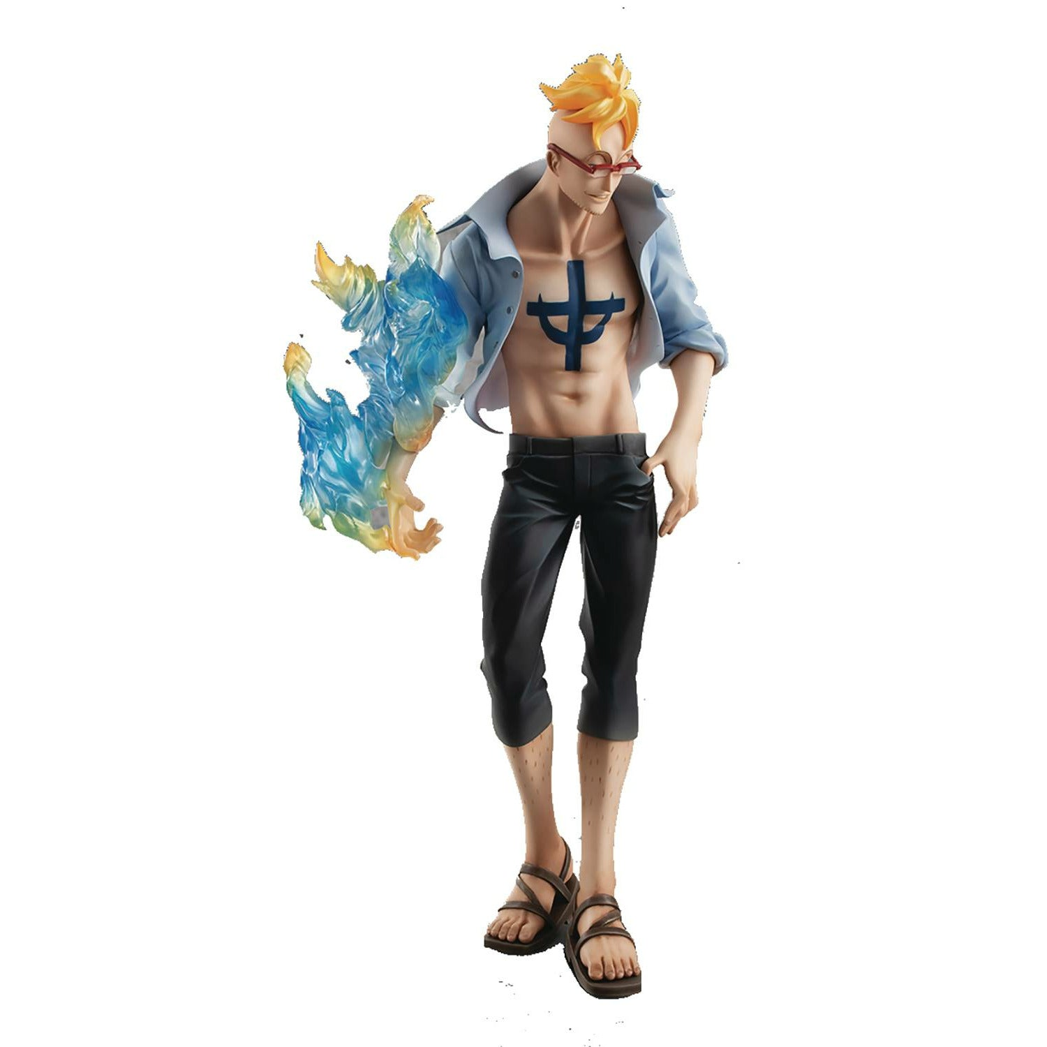 One Piece Portrait Pirates Ship Doctor Marco Ltd PVC Figure