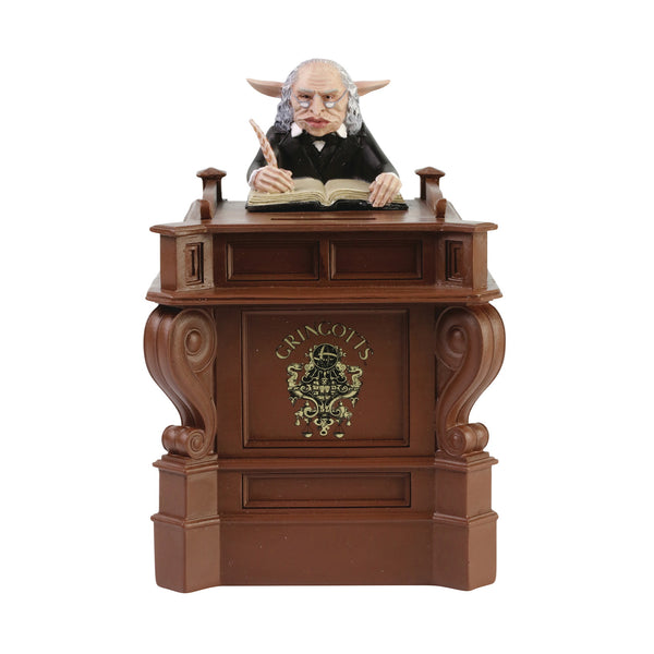 Harry Potter Gringotts Goblin 7.2in Bank