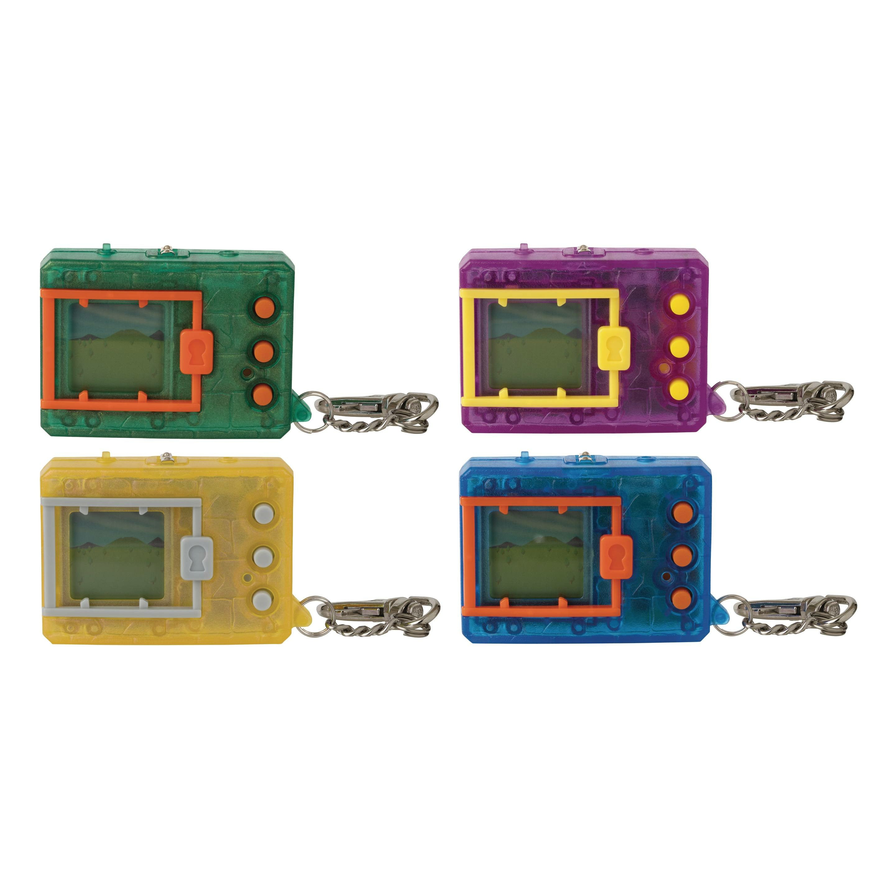 Digimon Translucent Digivice 8pc Display