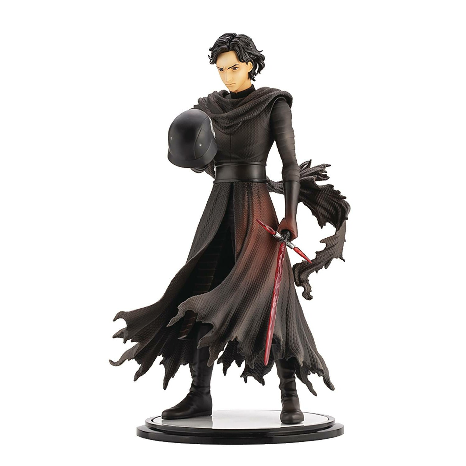 Star Wars Force Awakens Kylo Ren Cloaked In Shadows Artfx