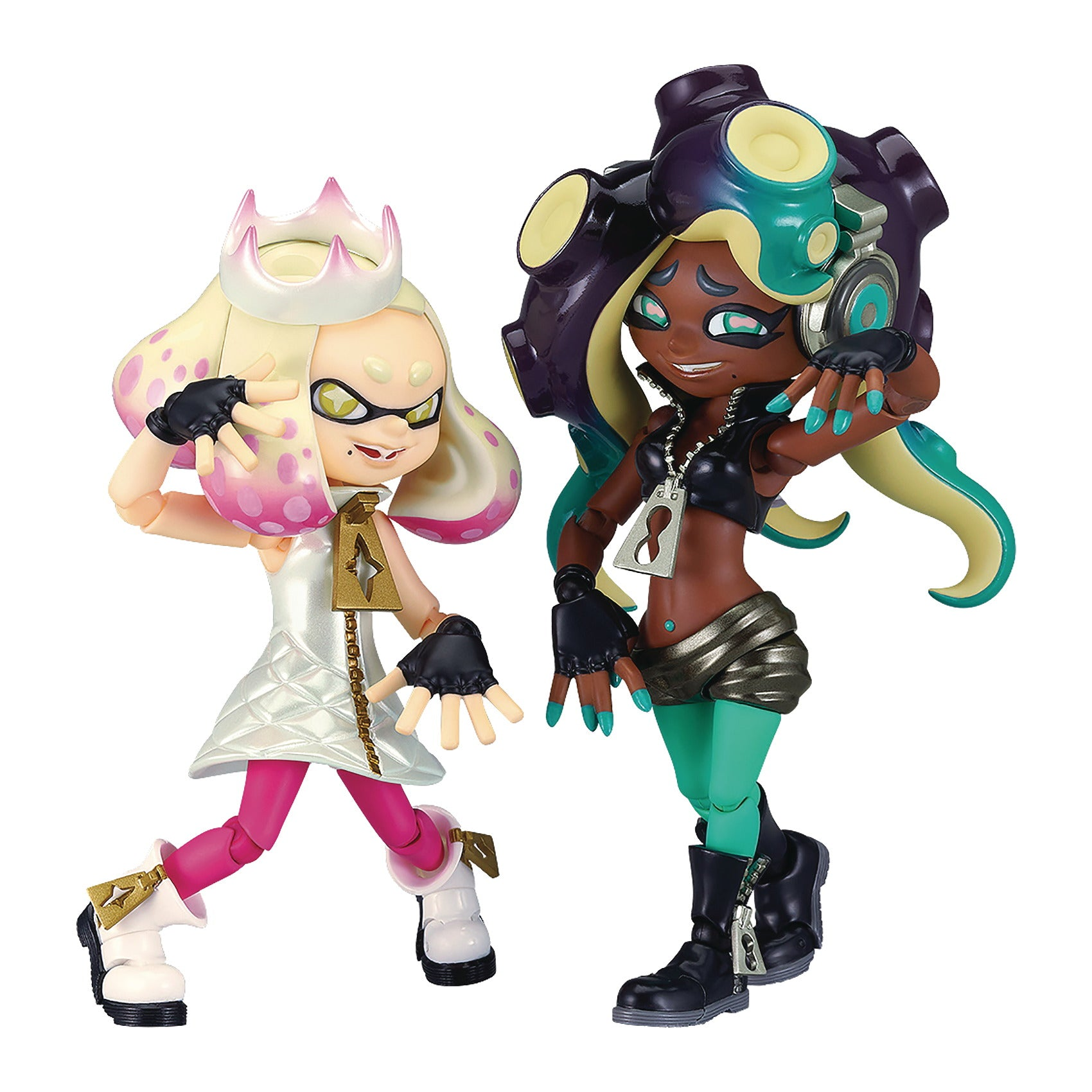 Splatoon 2 Off The Hook FIGMA Action Figure Set