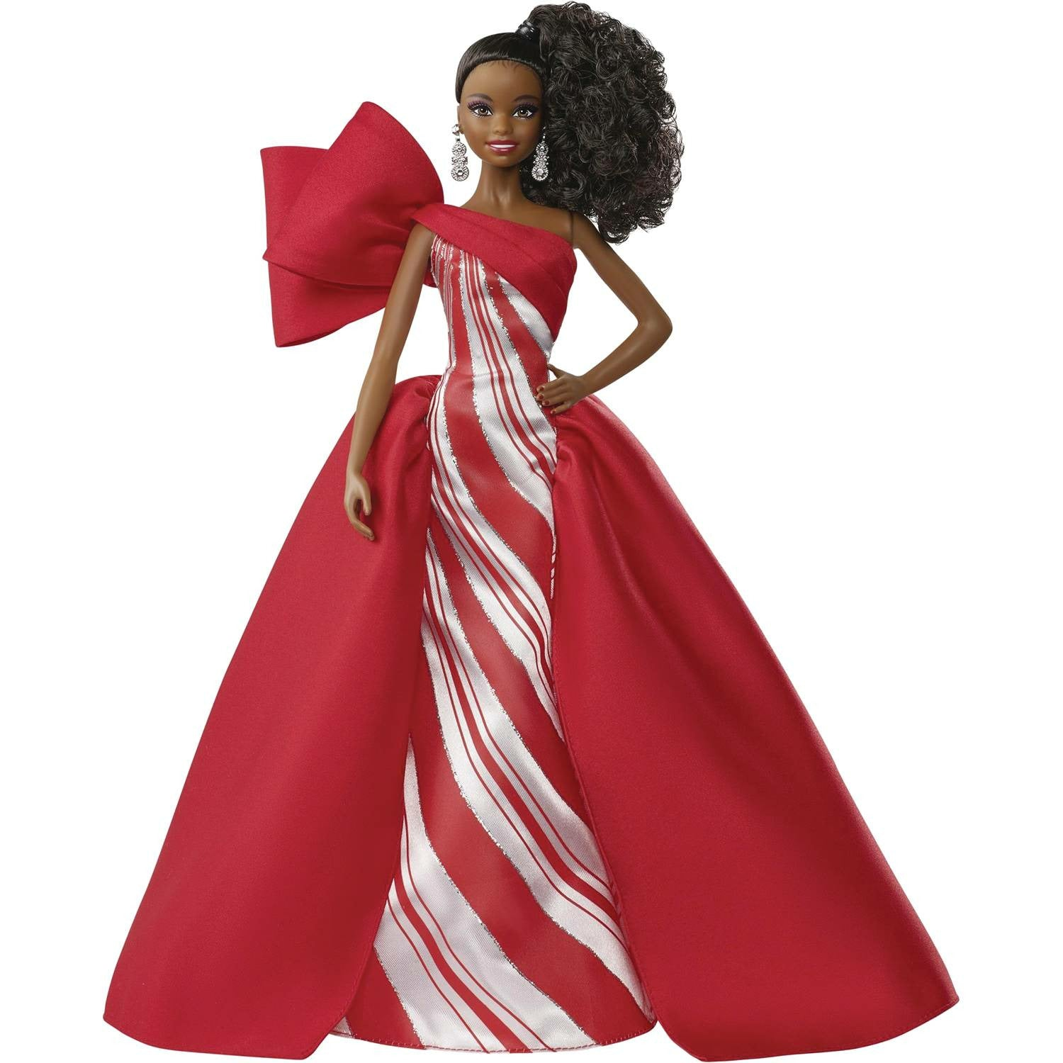 Barbie 2019 Holiday Coll Doll Aa Version