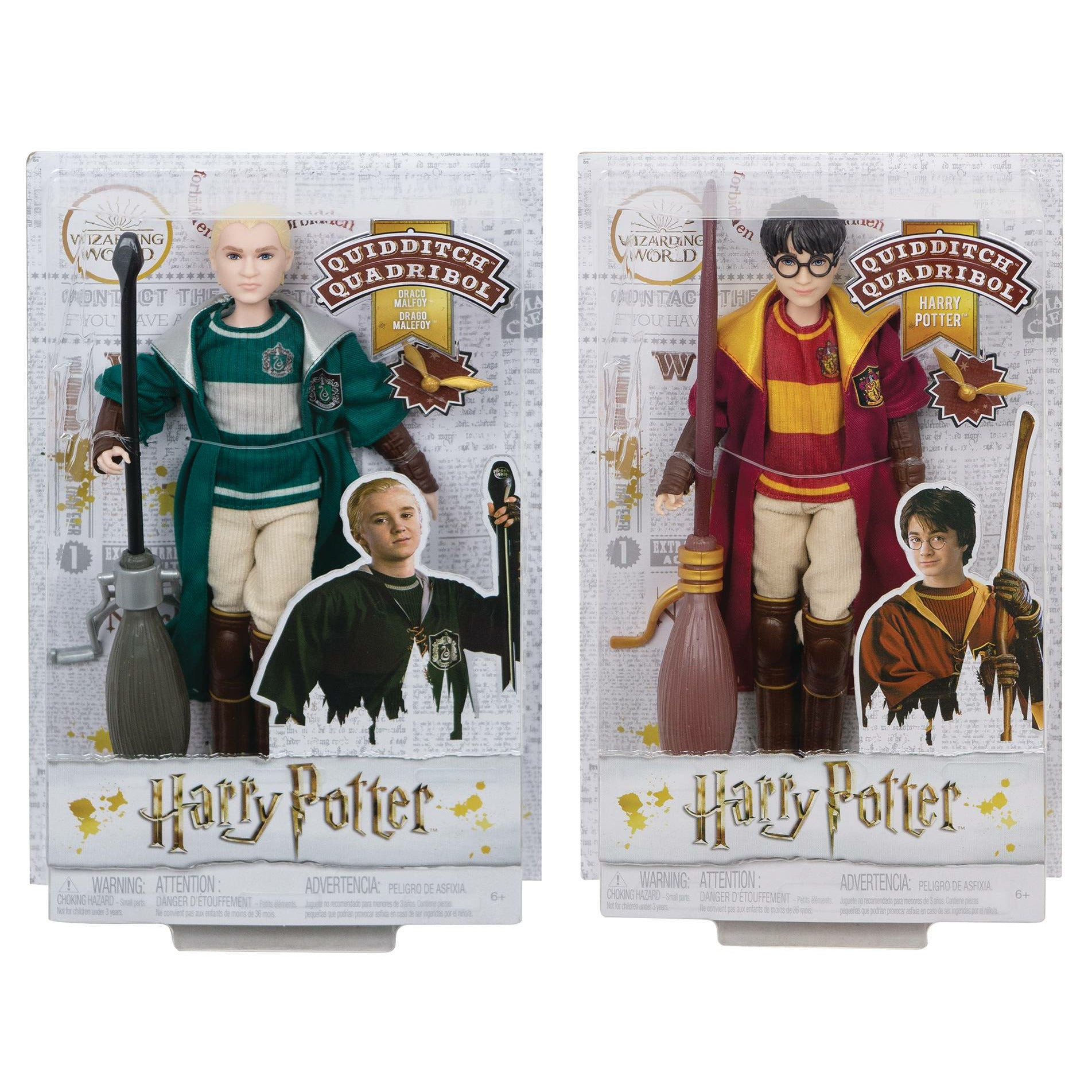 Harry Potter 7in Scale Quidditch Doll Assortment