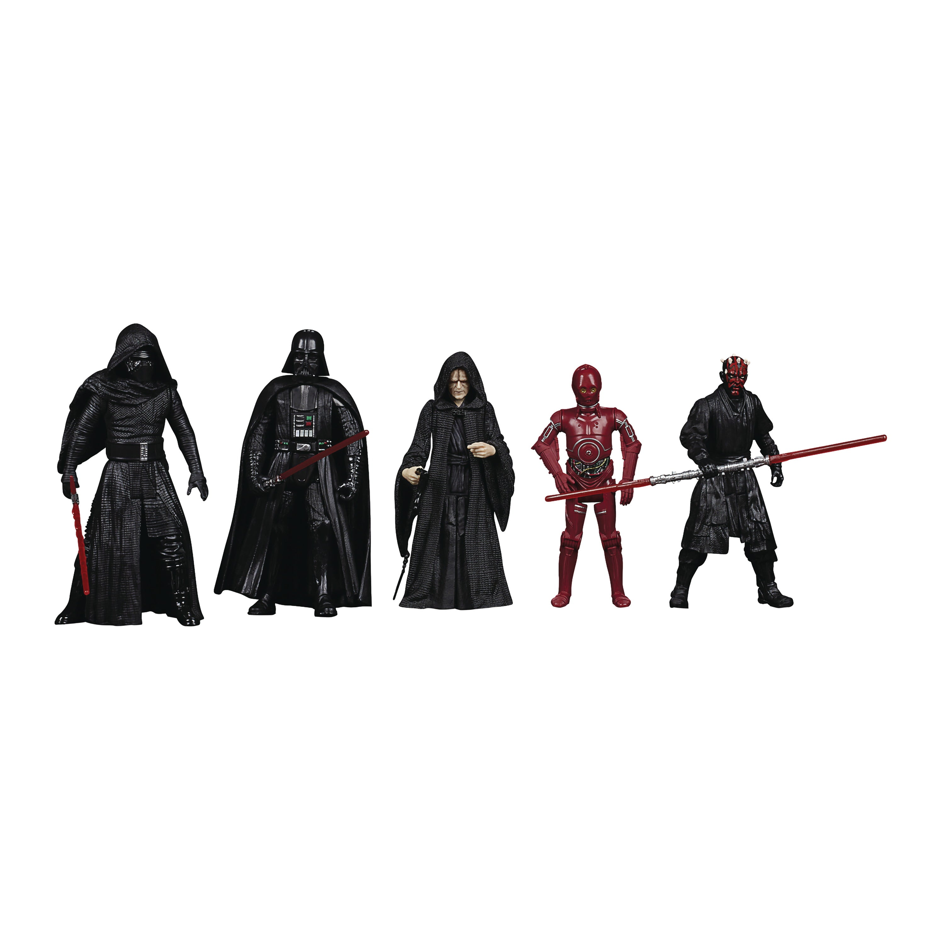 Star Wars Celebrate The Saga 3-3/4in Sith 5pc Action Figure Set CS