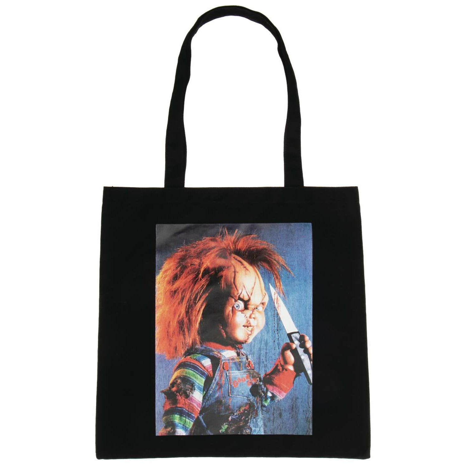 Child's Play Chucky Image Capture Canvas Tote