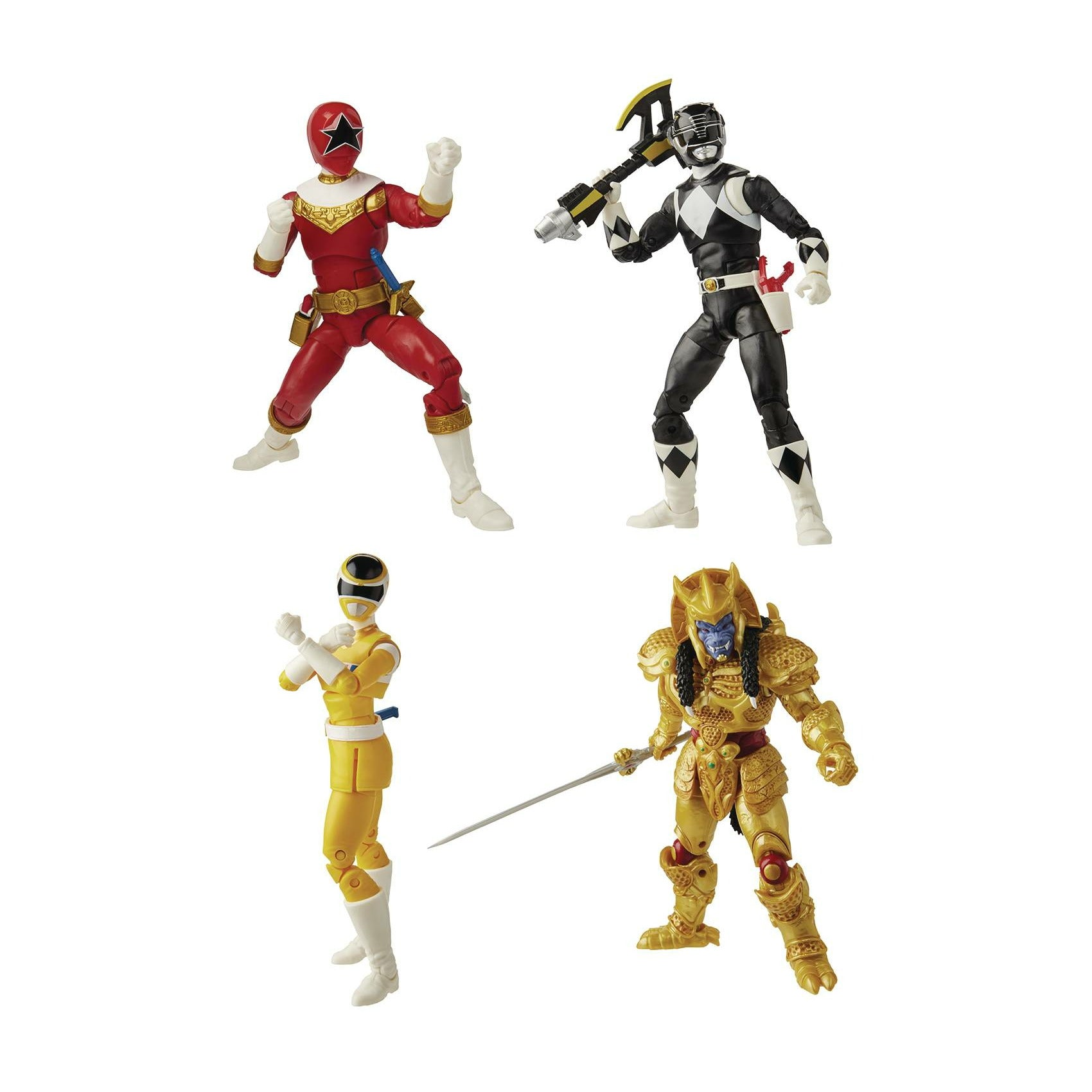 Power Rangers Lightning 6in Action Figure Assortment 202003