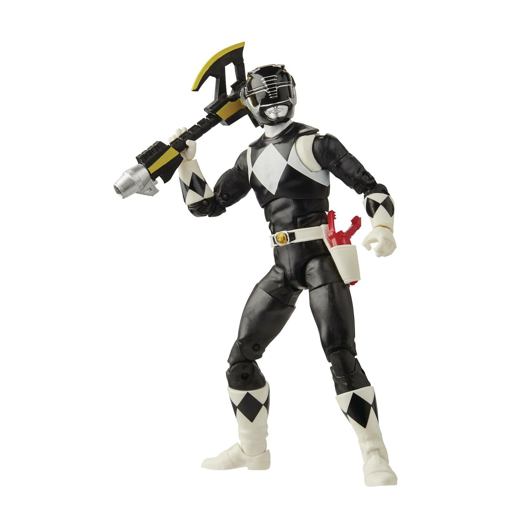 Power Rangers Lightning 6in Mmpr Black Ranger Action Figure CS