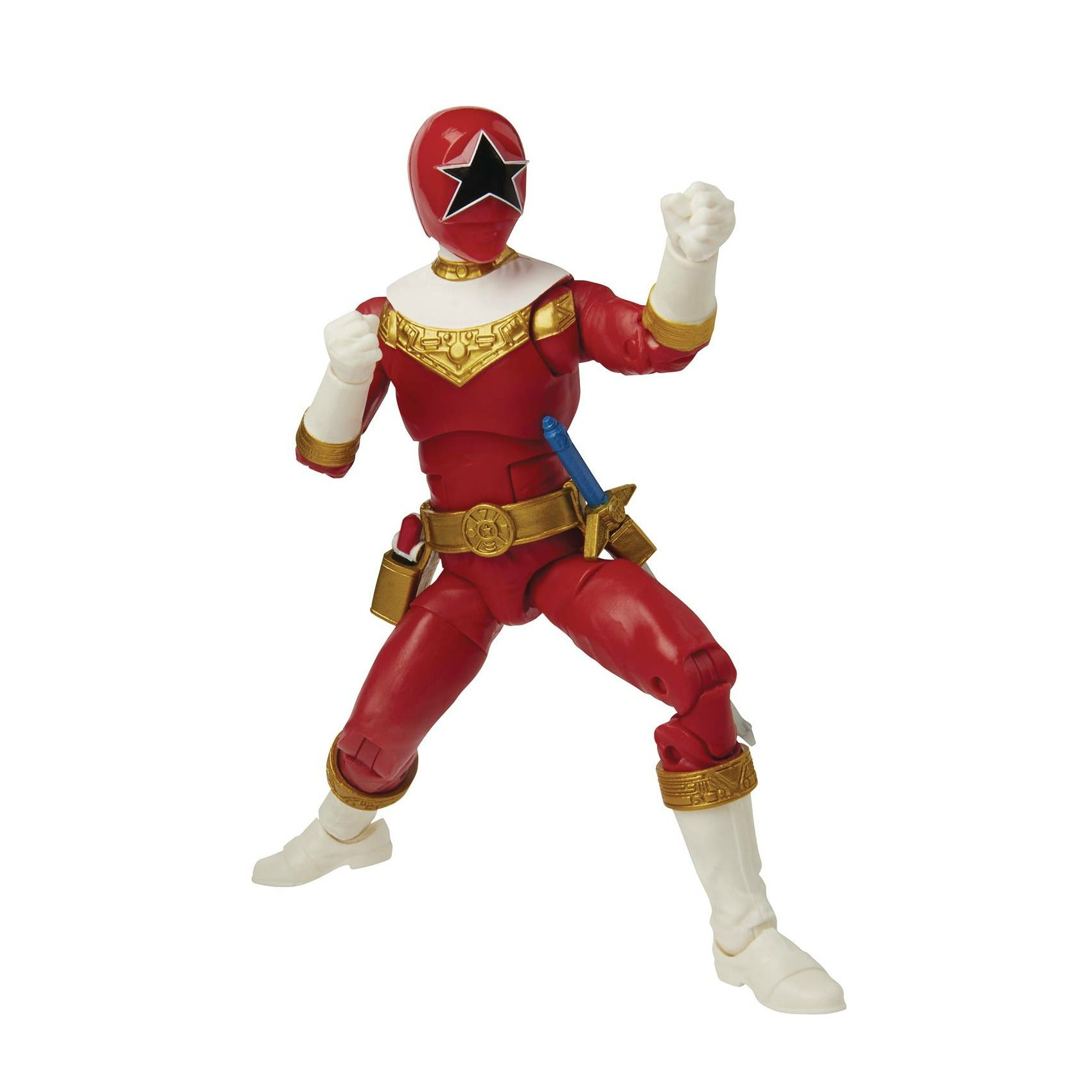Power Rangers Lightning 6in Zeo Red Ranger Action Figure