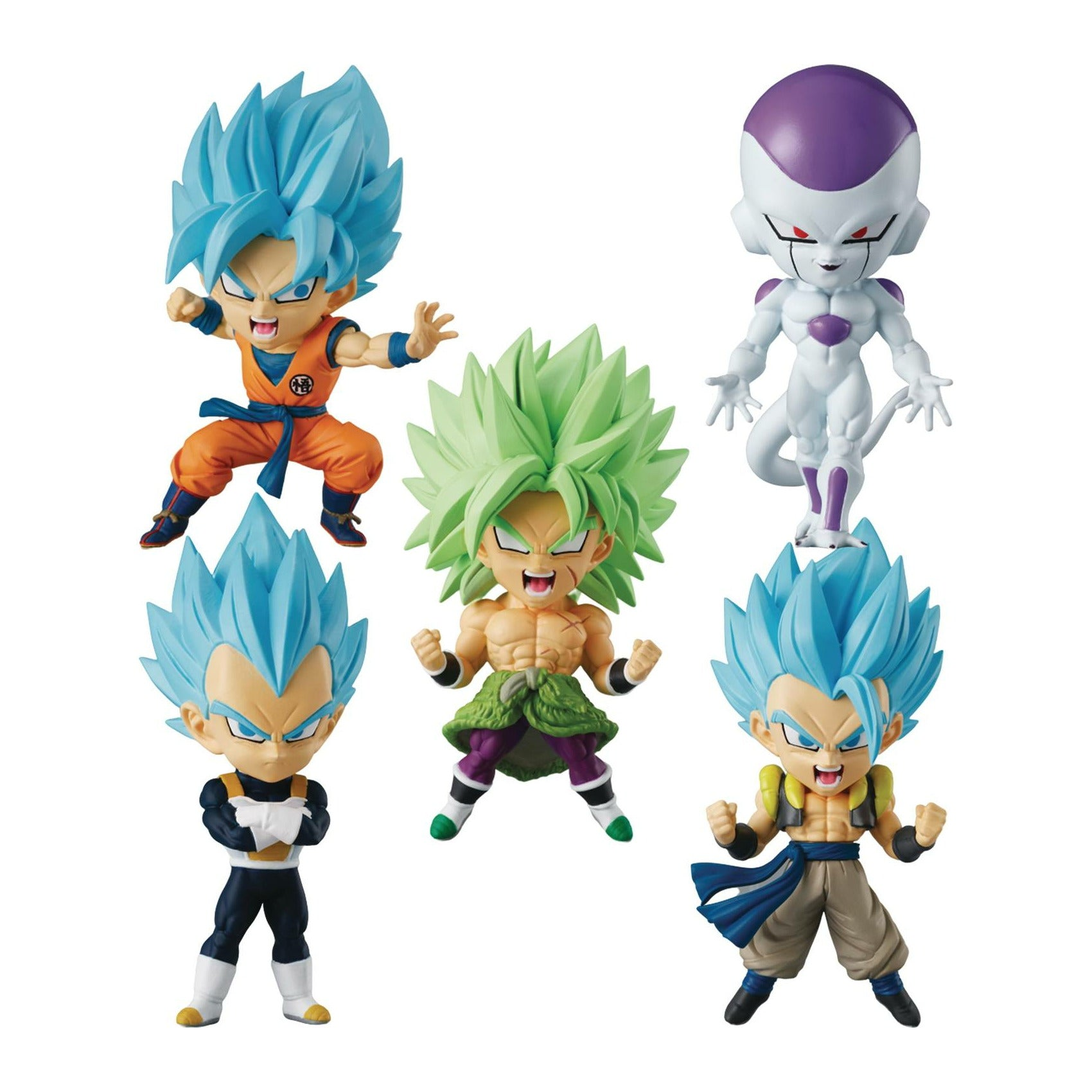 Dragon Ball Chibi Masters PVC Mini Figure 12pc Display