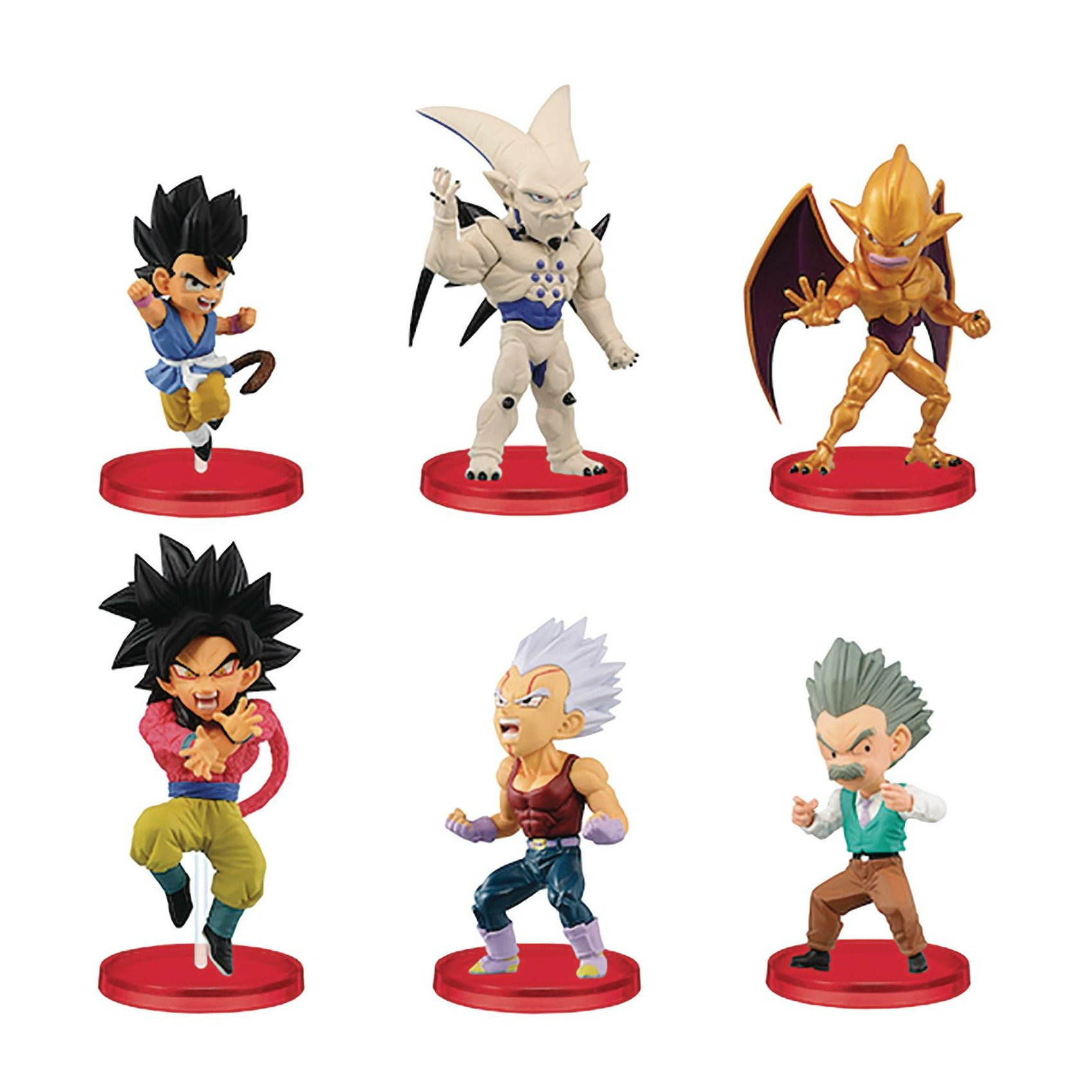 Dragon Ball Gt World Coll Vol4 12pc Bmb Figure Assortment