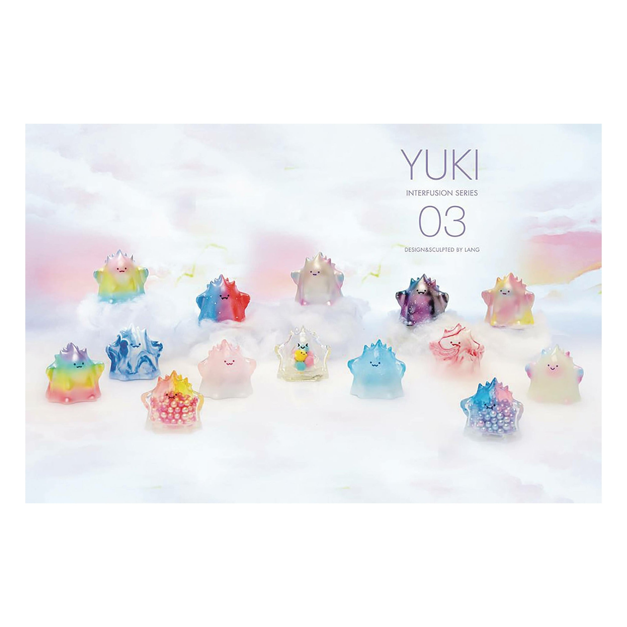 Popmart Yuki Interfusion Series 12pc Figure Bmb Display