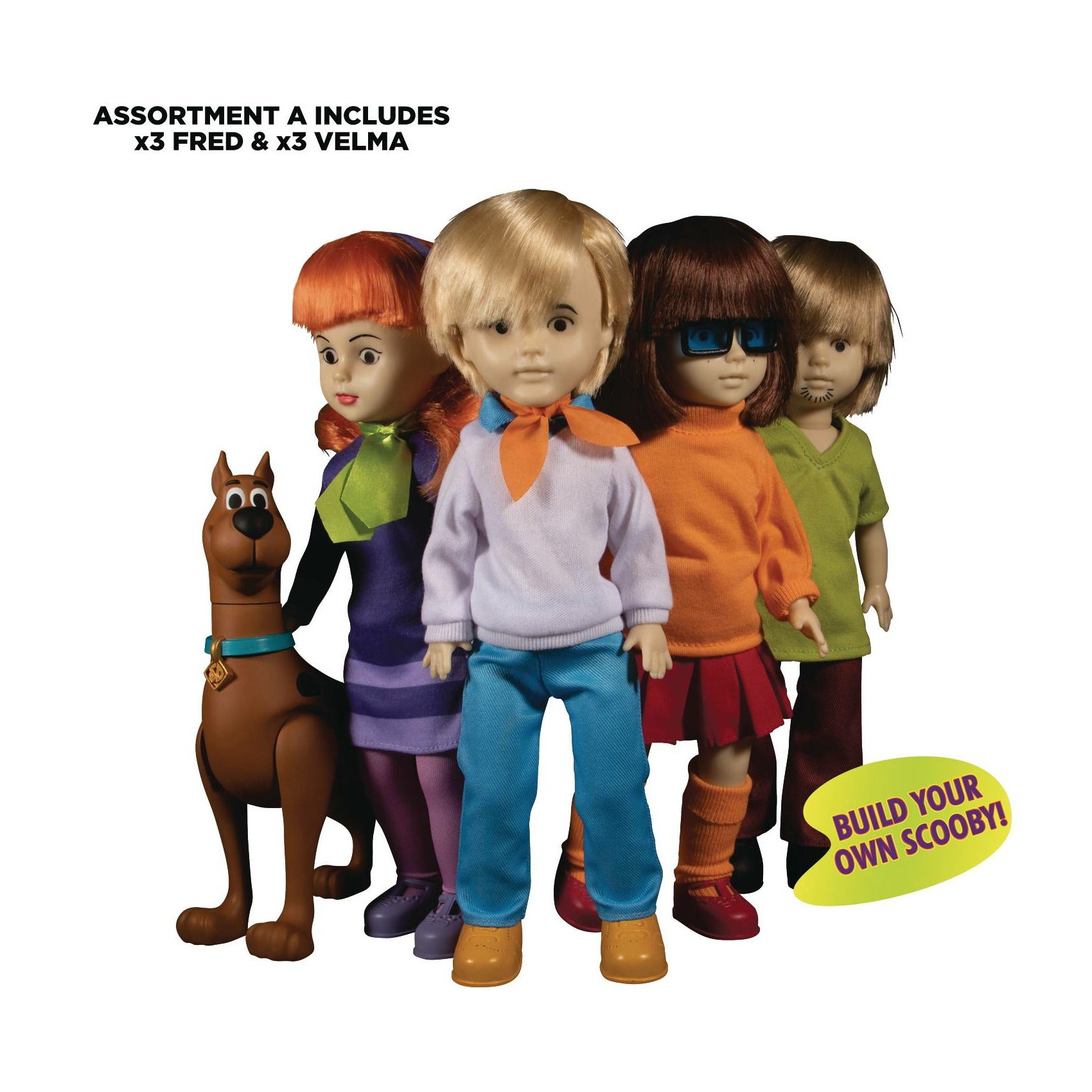 Living Dead Dolls Scooby-doo & Mystery Inc Baf Assortment A