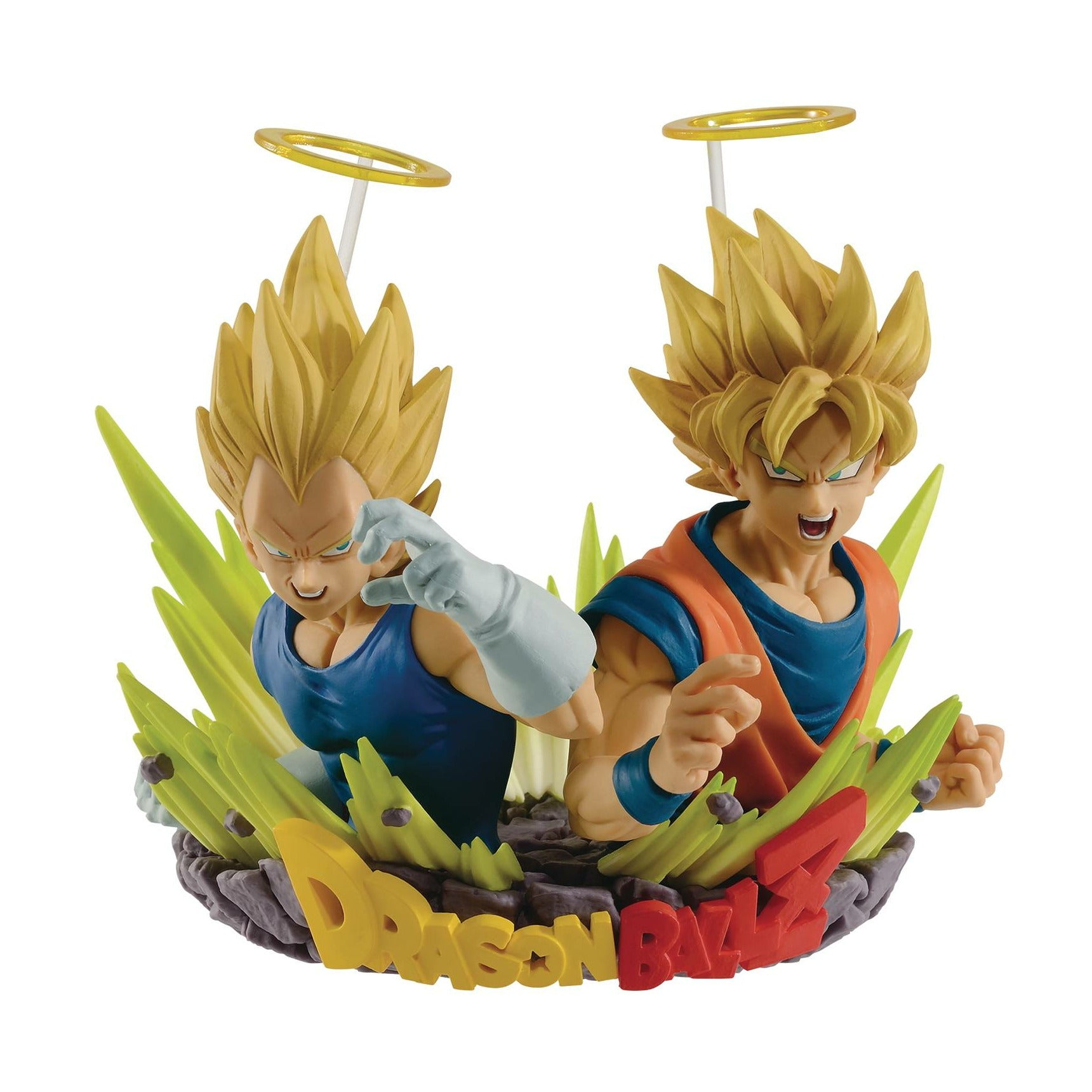 Dragon Ball Com Figureuration Vol2 Gogeta Goku & Vegeta Figure