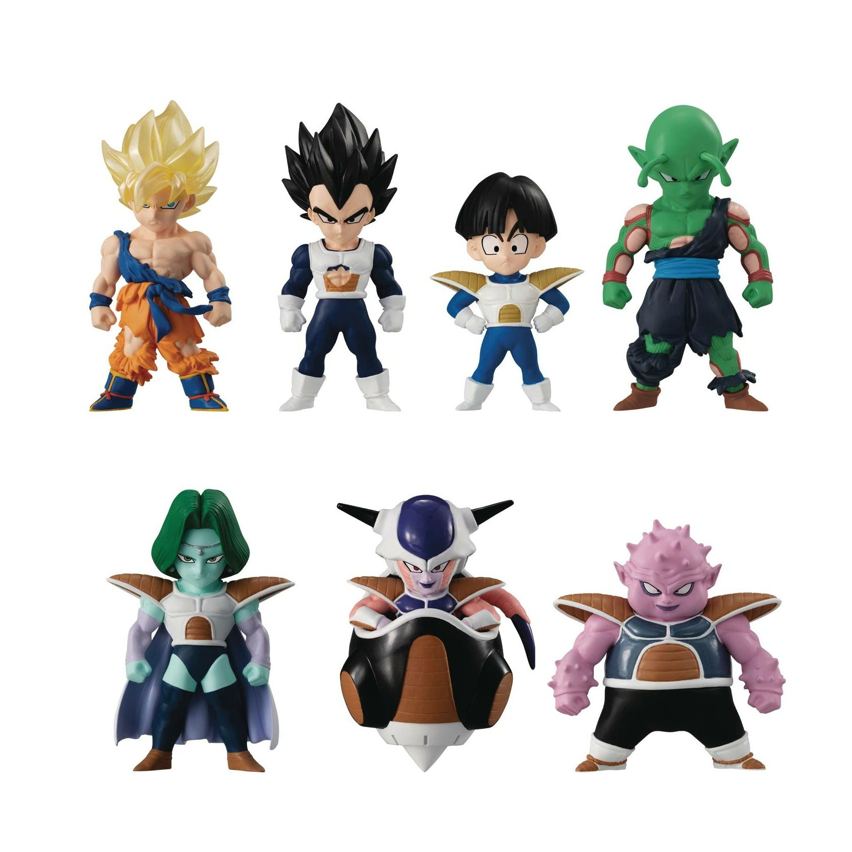 Dragon Ball Z Adverge 13 Mini Figure 7pc Set
