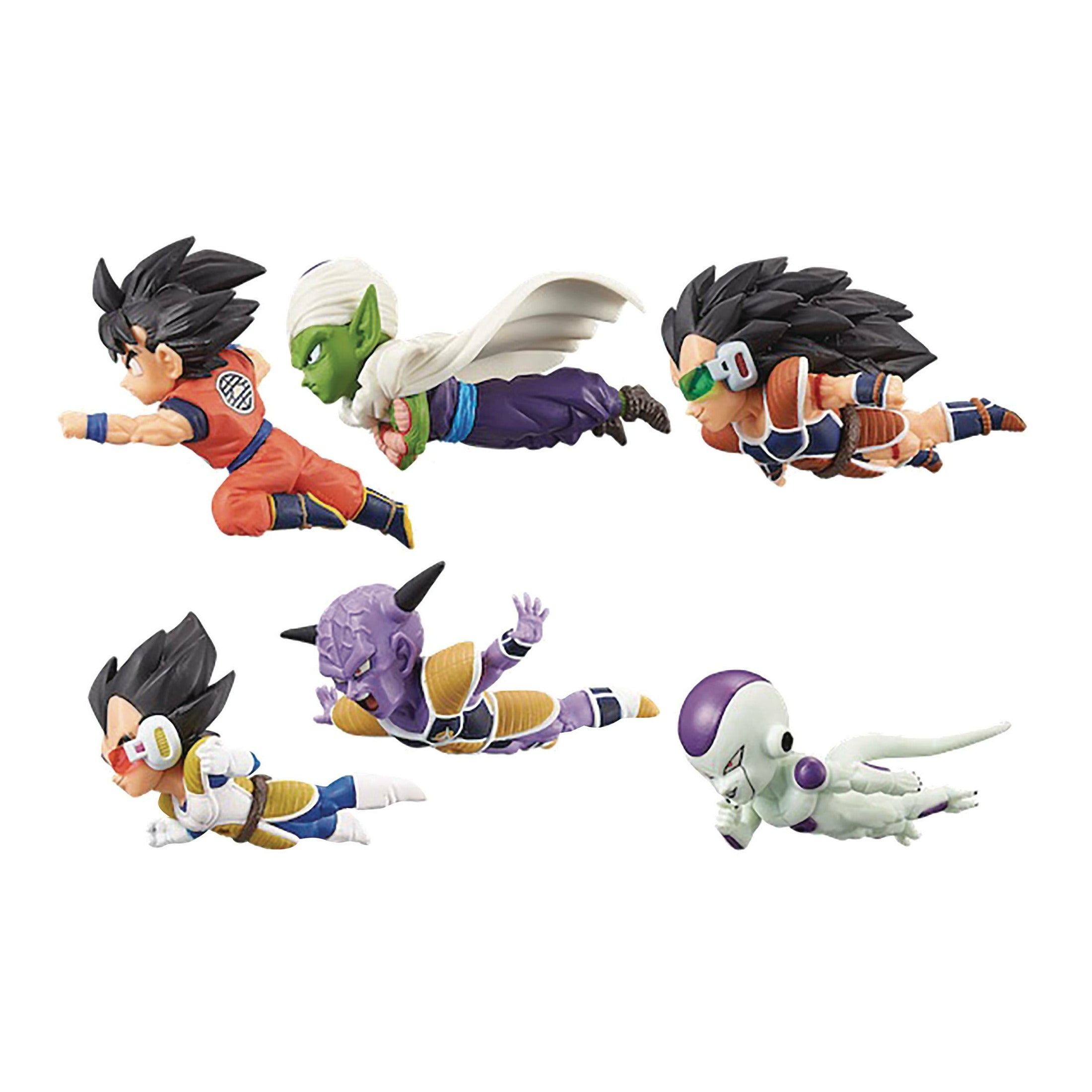 Dragon Ball Z World Collectible V1 12pc Bmb Figure Assortment
