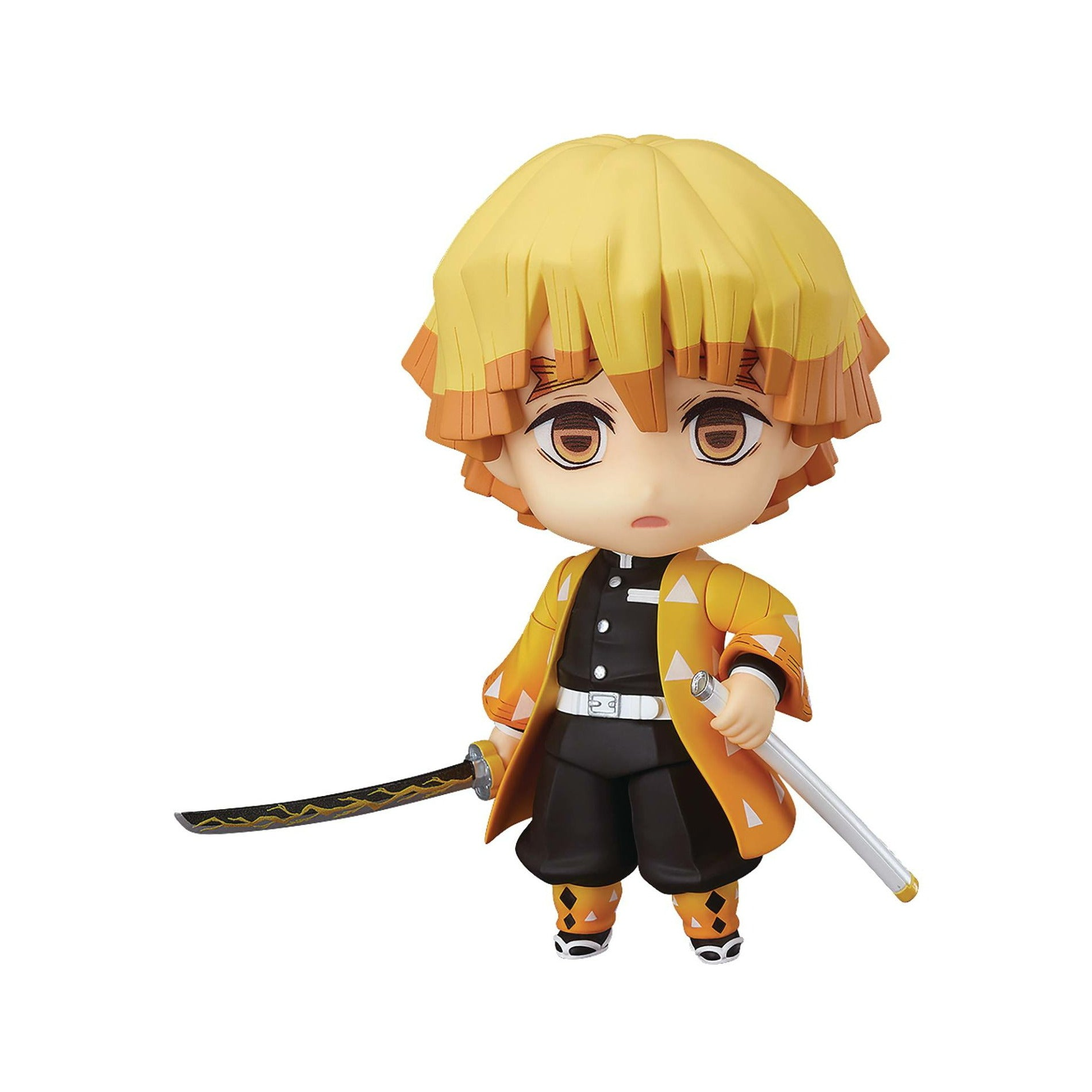 Demon Slayer Kimetsu No Yaiba Zenitsu Agatsuma Nendoroid Action Figure