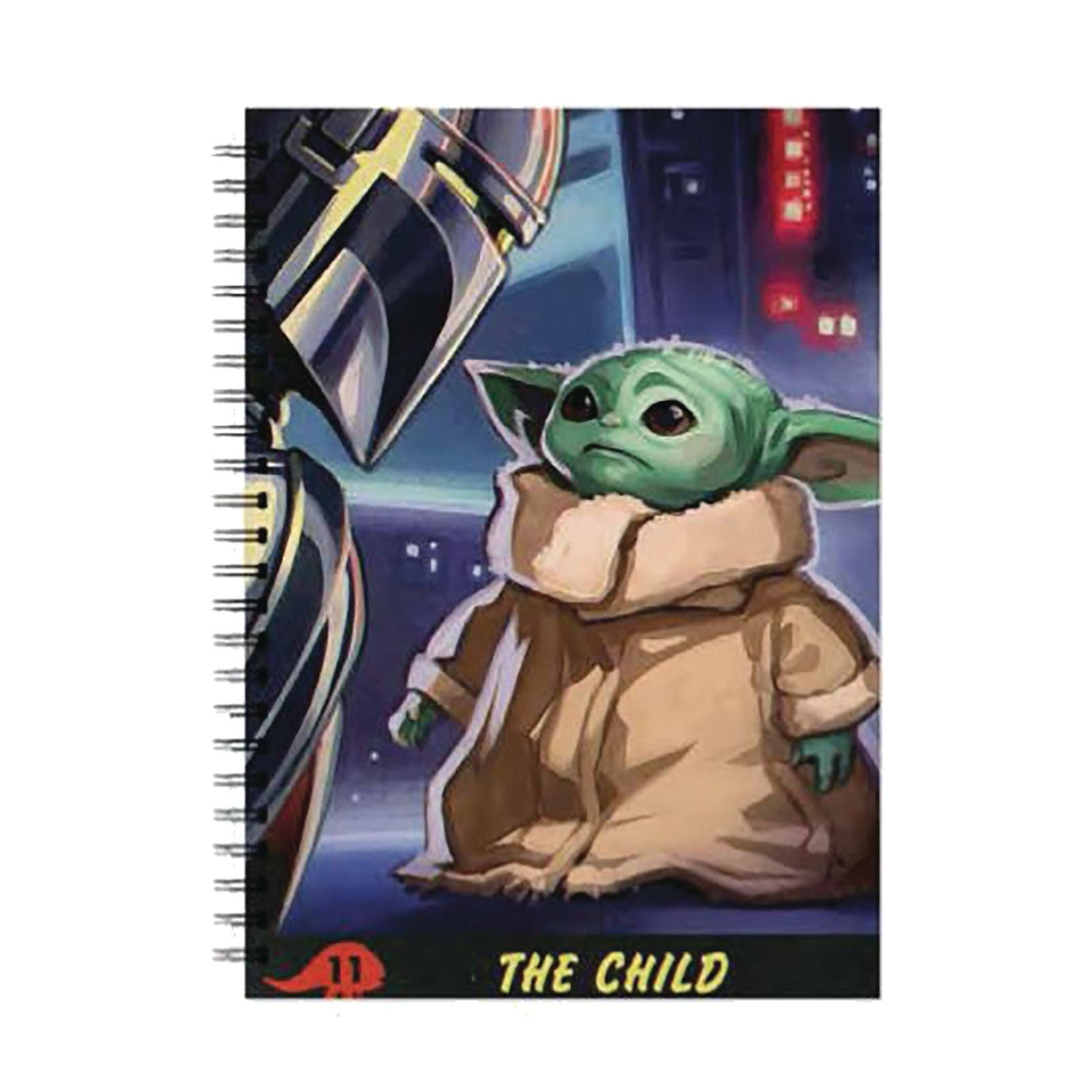 The Mandalorian The Child Comic Style A5 Wiro Journal