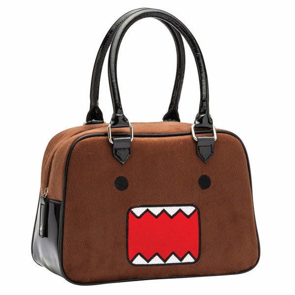 Domo Face Fur Handbag